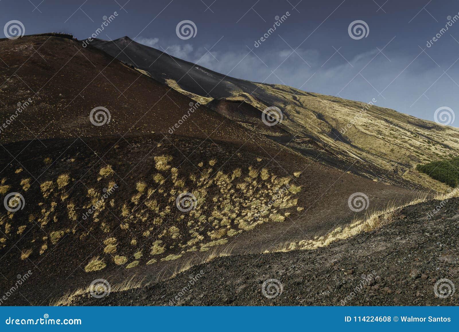 Un paysage de l Etna