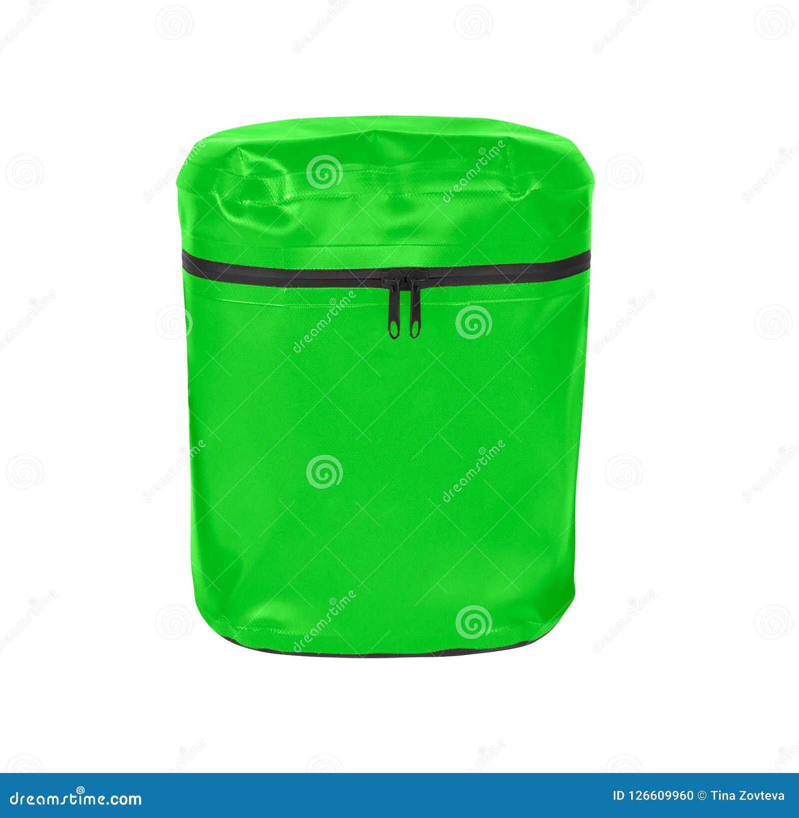Un pequeño bolso verde de la honda