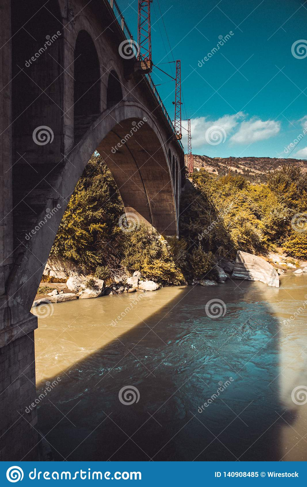 Un pequeño puente