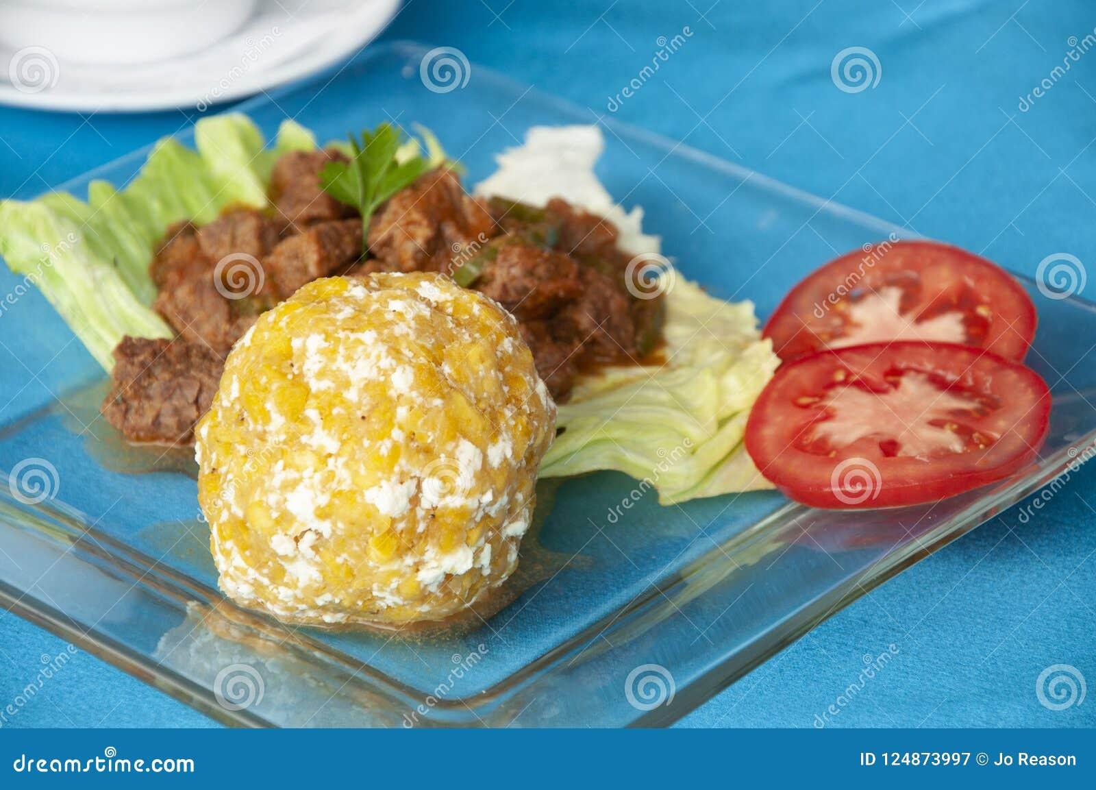 Un petit déjeuner traditionnel d ecuadorian