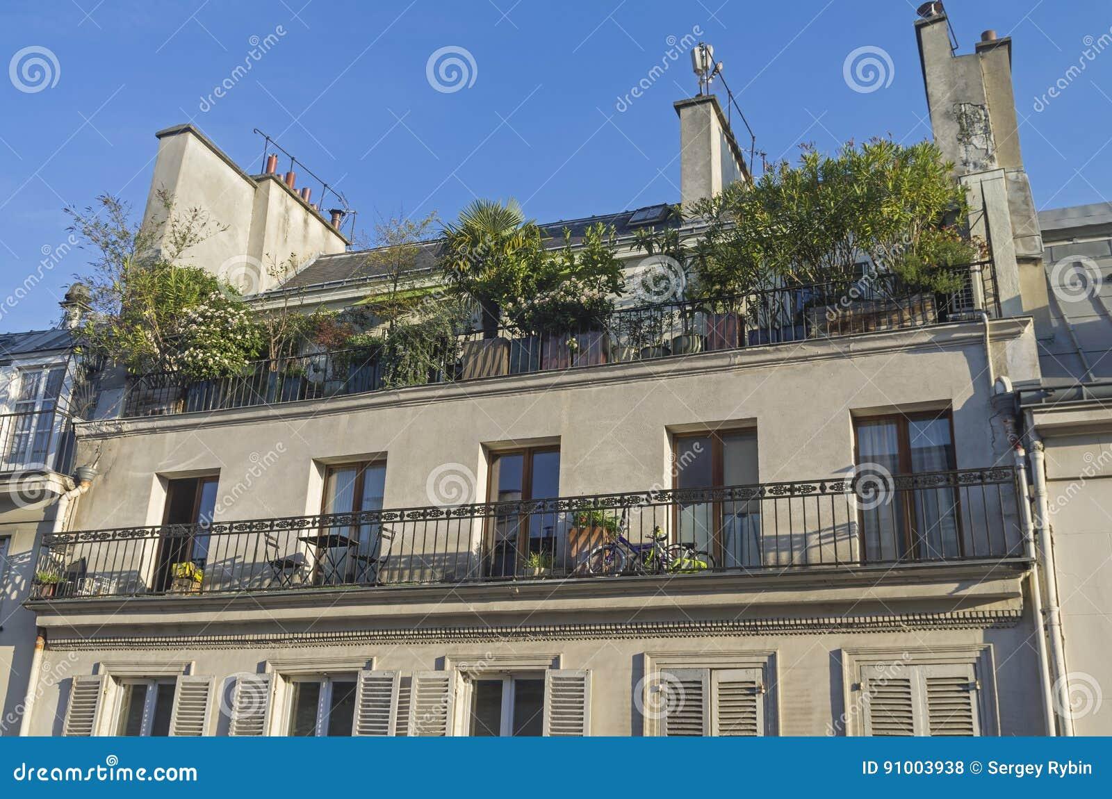 Piccolo Giardino Sul Balcone : Un piccolo giardino sul balcone fotografia stock immagine di