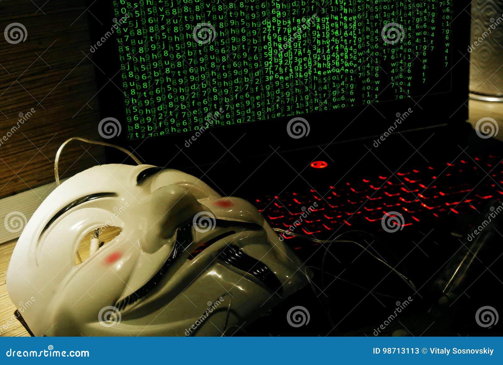 Un pirate informatique anonyme essaye de fendre la protection du système d exploitation du ` s