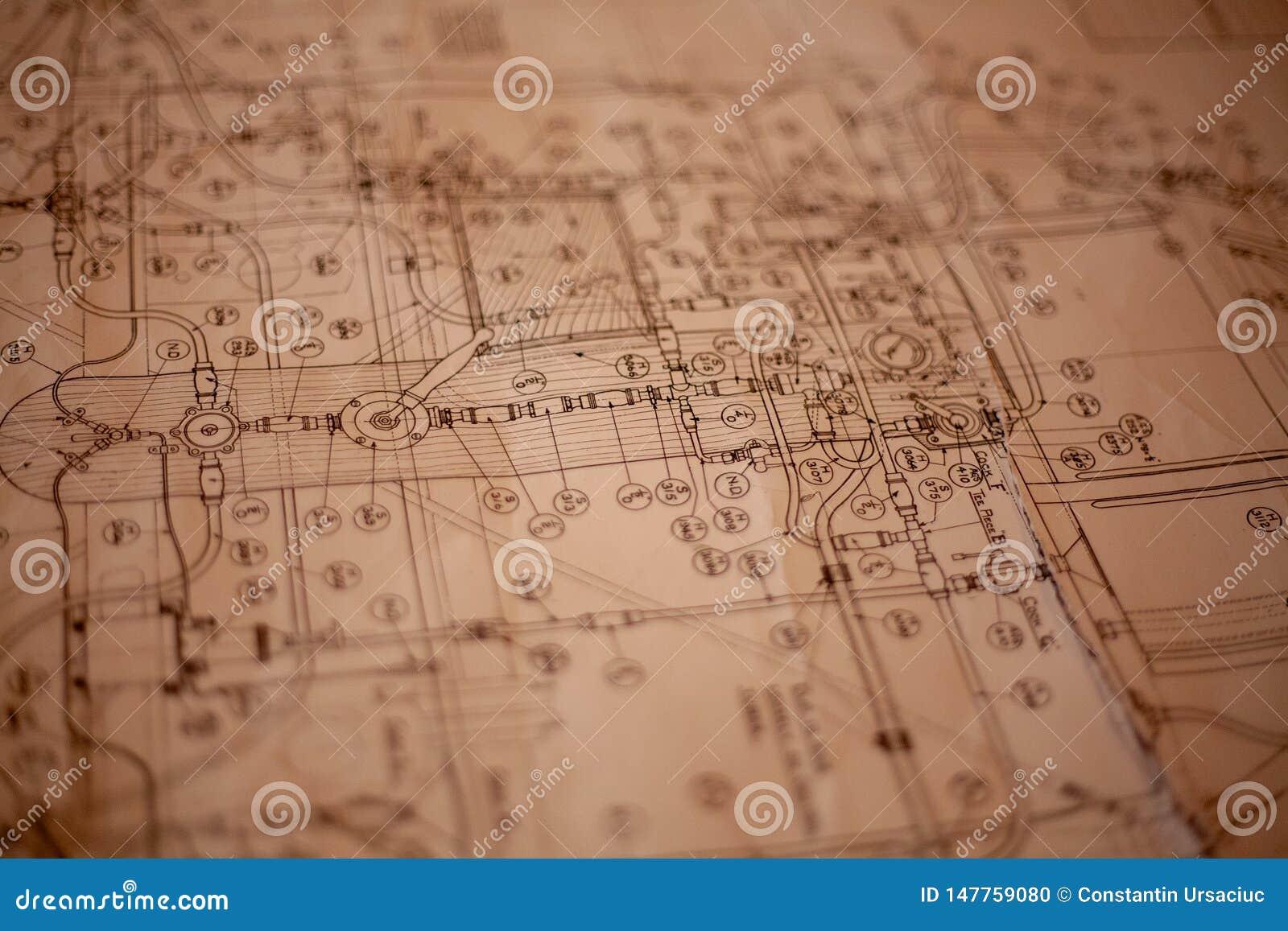 Un plan de papel