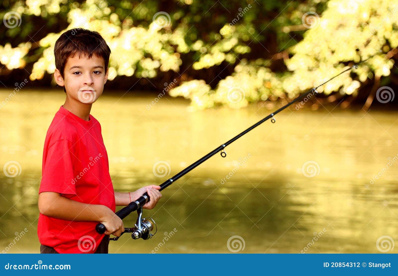 Un poisson contagieux de garçon