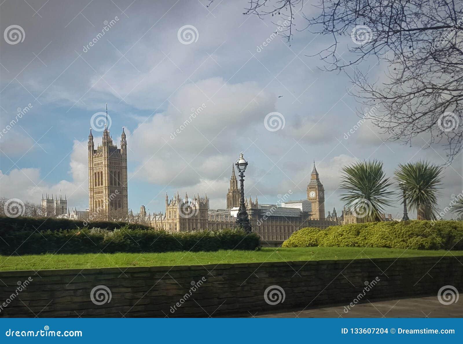 Un pomeriggio piacevole al parco a Londra