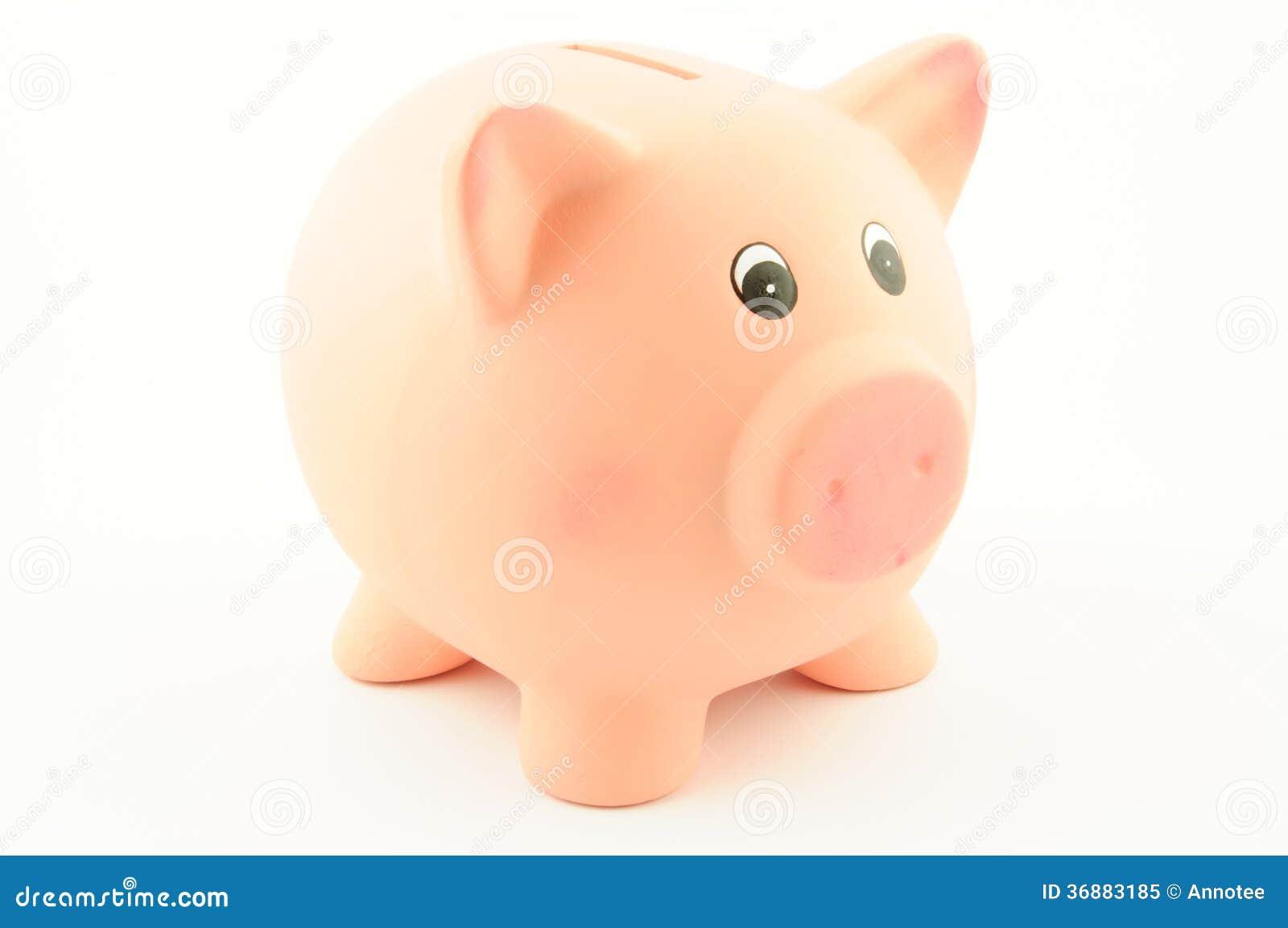 Download Un porcellino salvadanaio immagine stock. Immagine di percorso - 36883185
