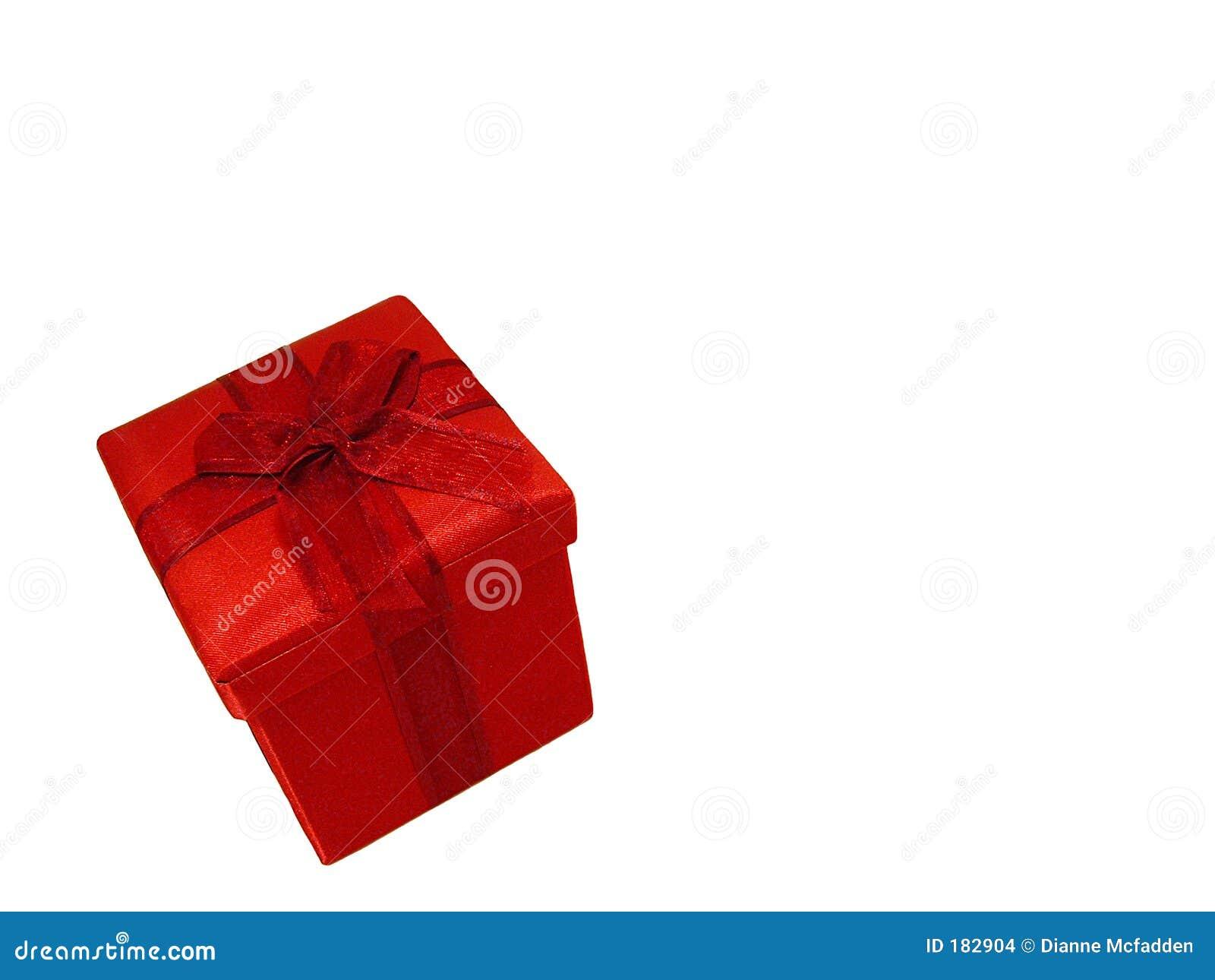 Un regalo rosso