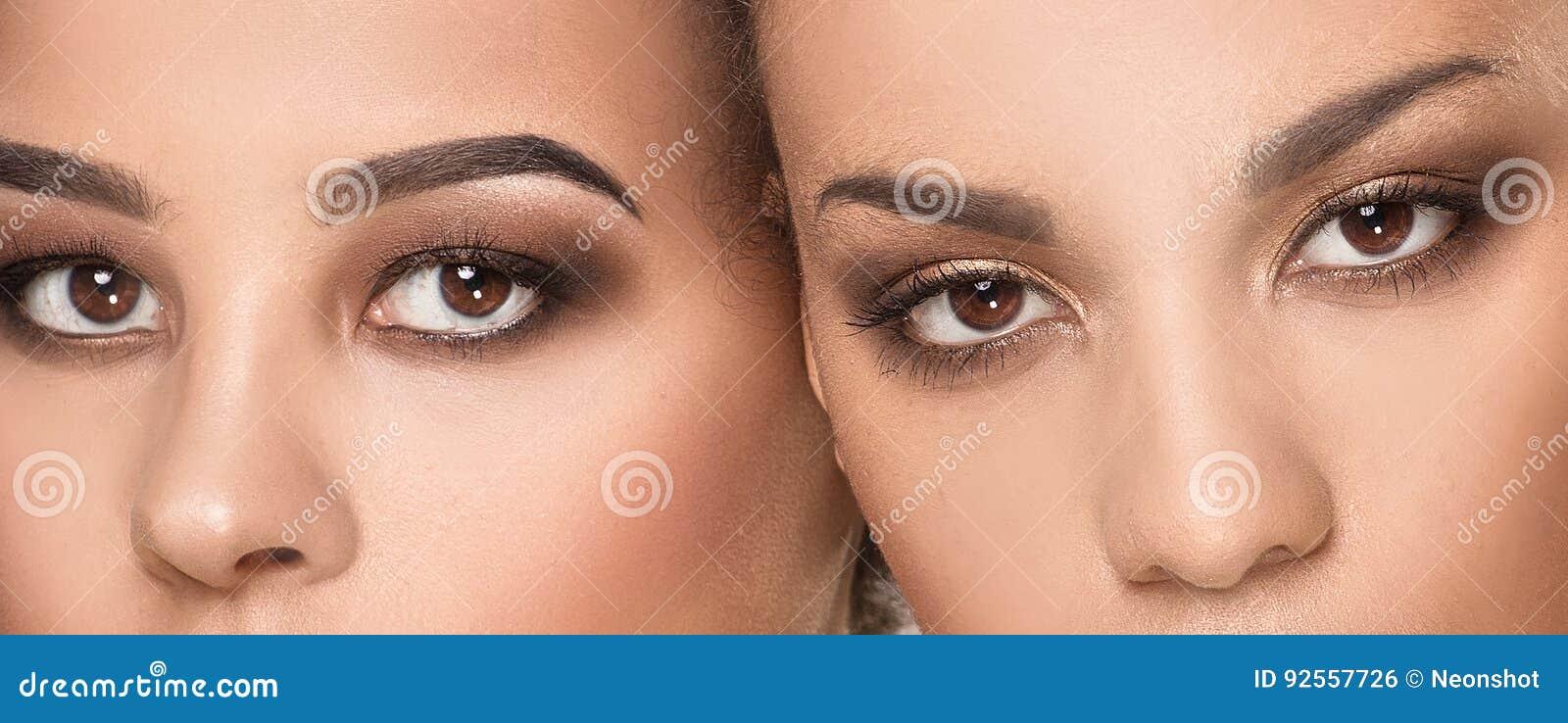 Un ritratto di bellezza di due ragazze afroamericane