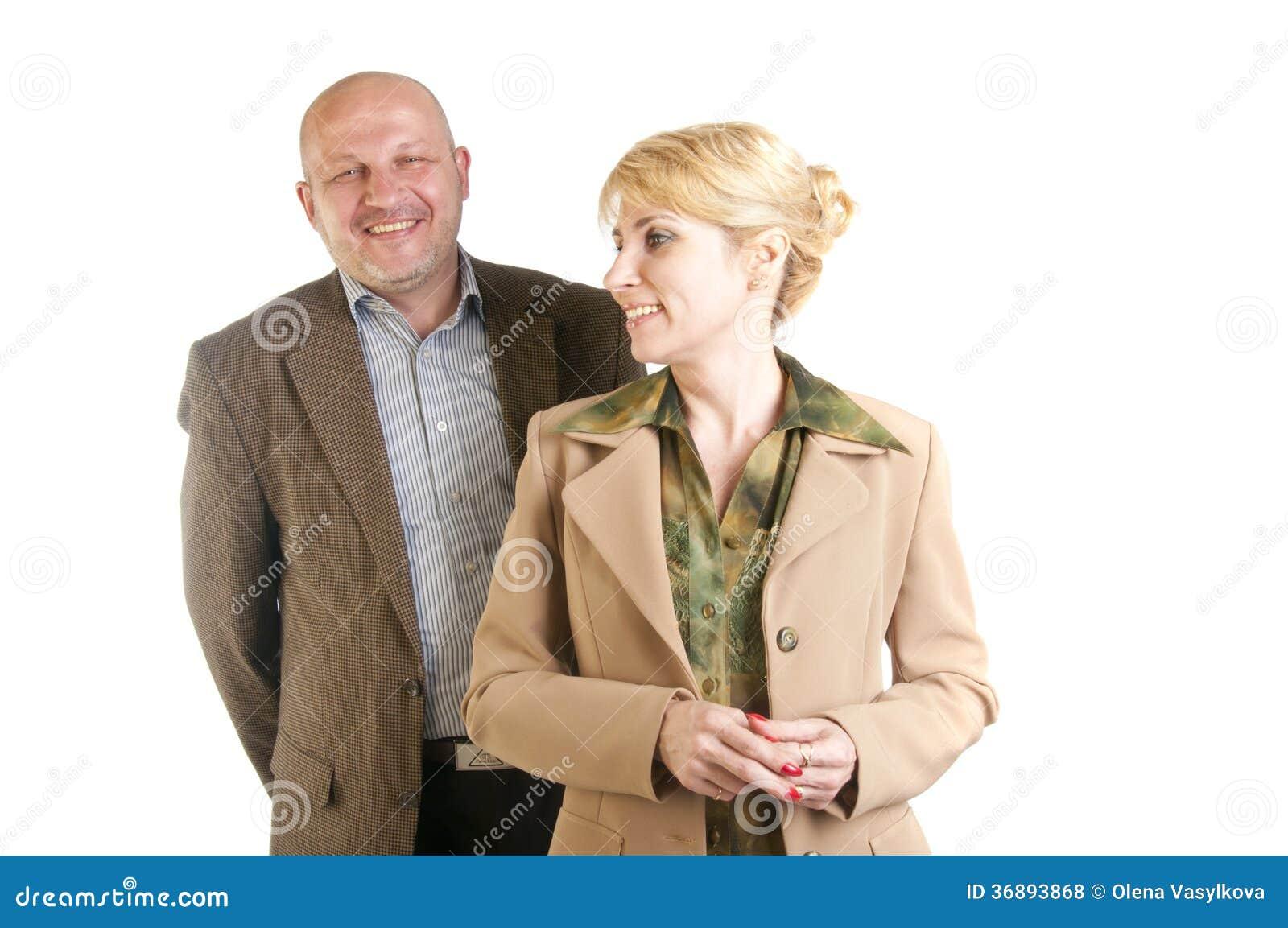 Download Un Ritratto Di Due Genti Di Affari Fotografia Stock - Immagine di finanziario, collare: 36893868