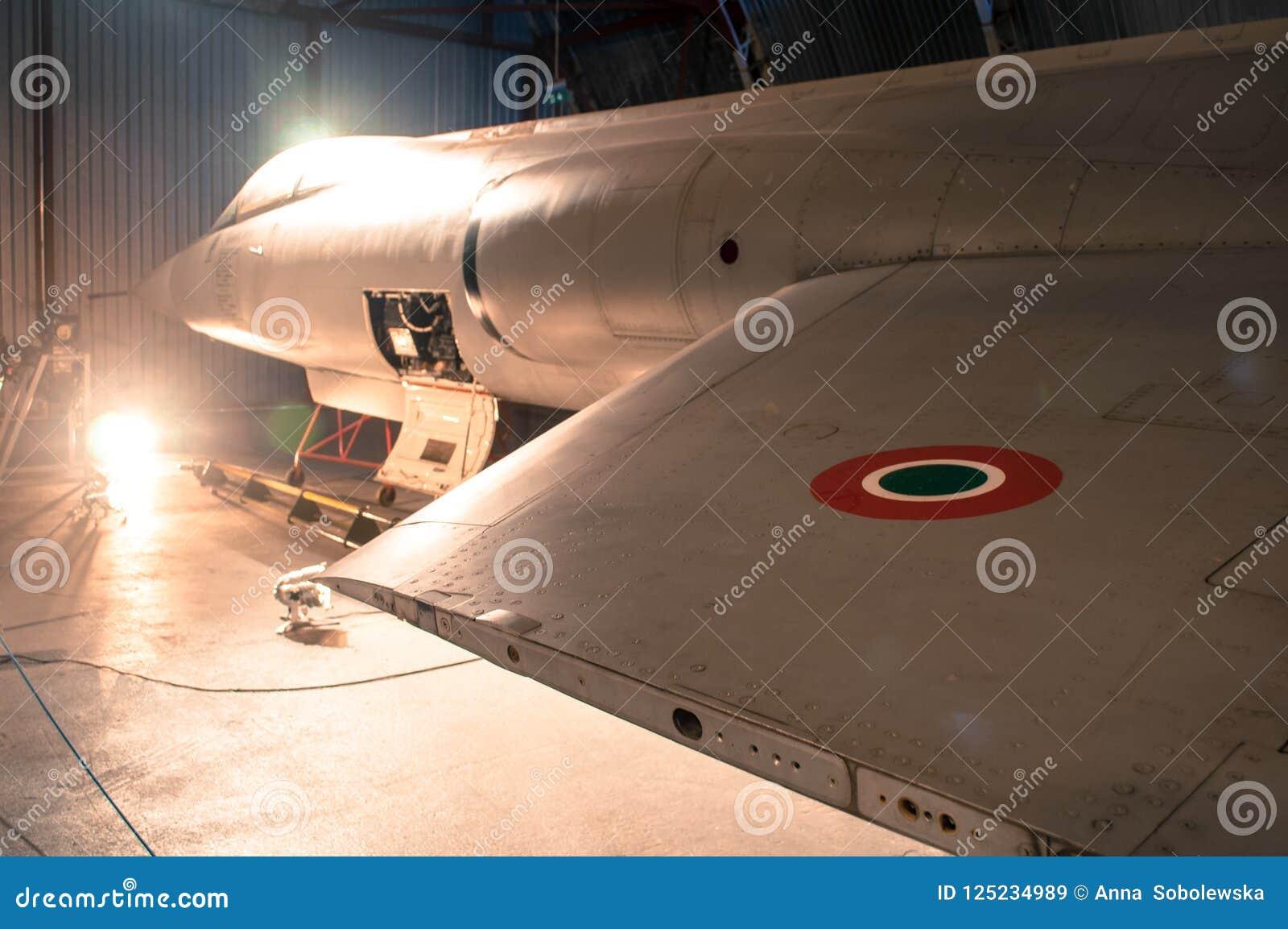 Un rondeau britannique de Royal Air Force utilisé généralement sur WWII également WW-2 ou chasseurs de la deuxième guerre mondial