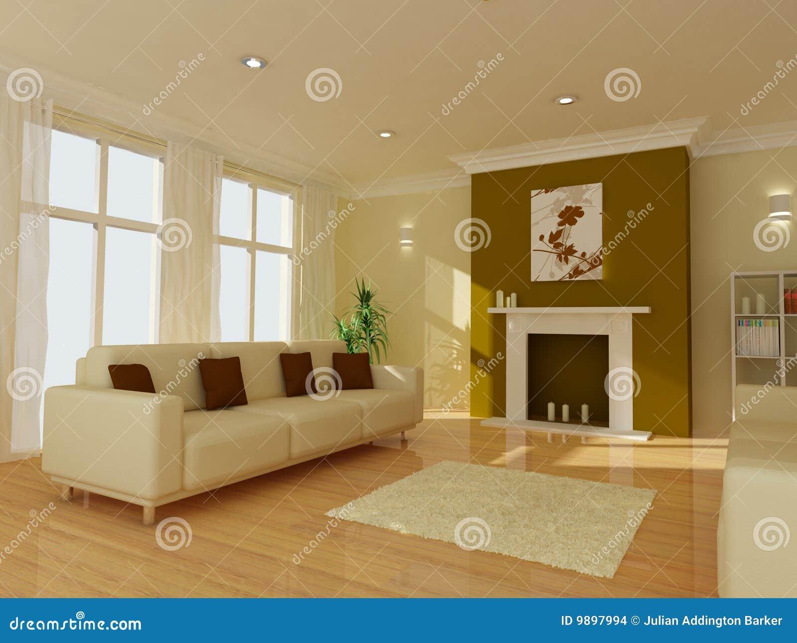 Un salone moderno