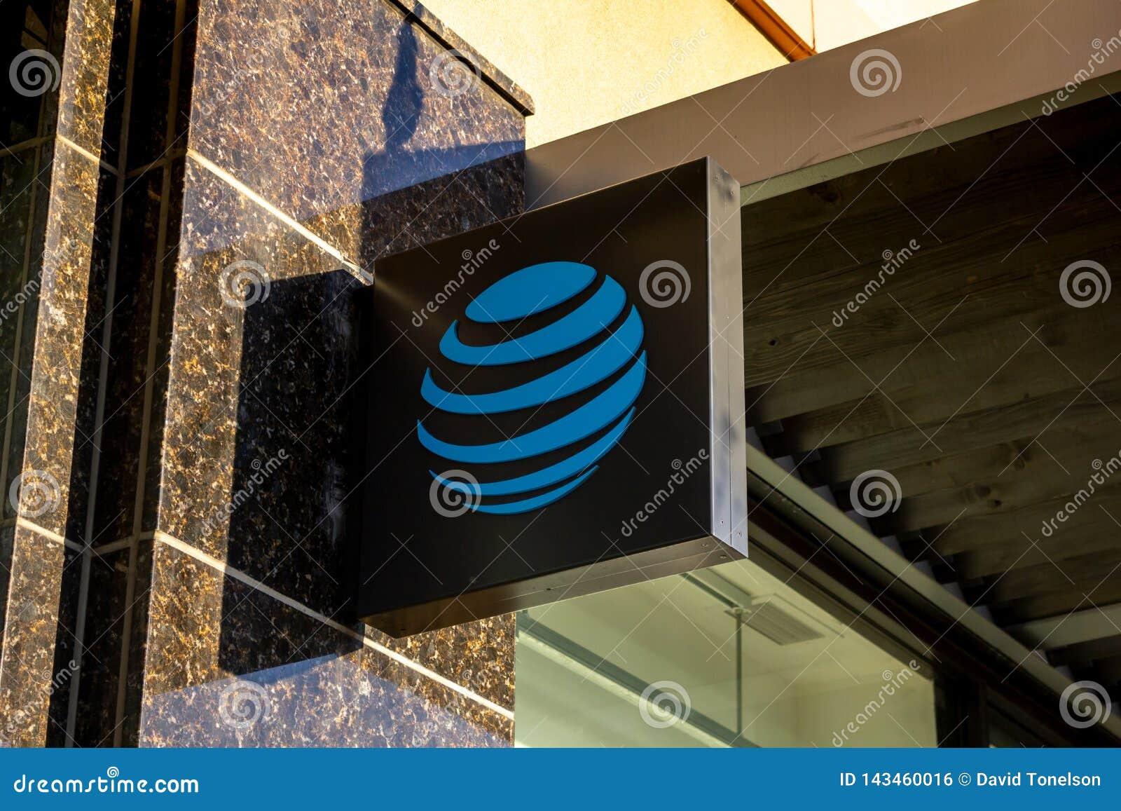 Un signe de construction pour AT&T