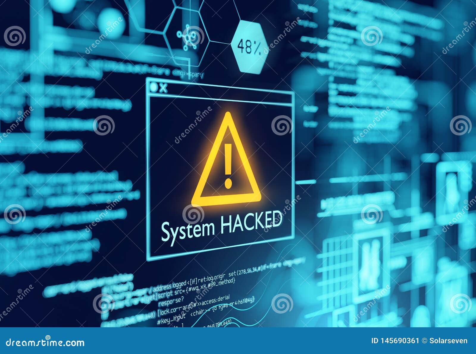 Un système informatique a entaillé l avertissement