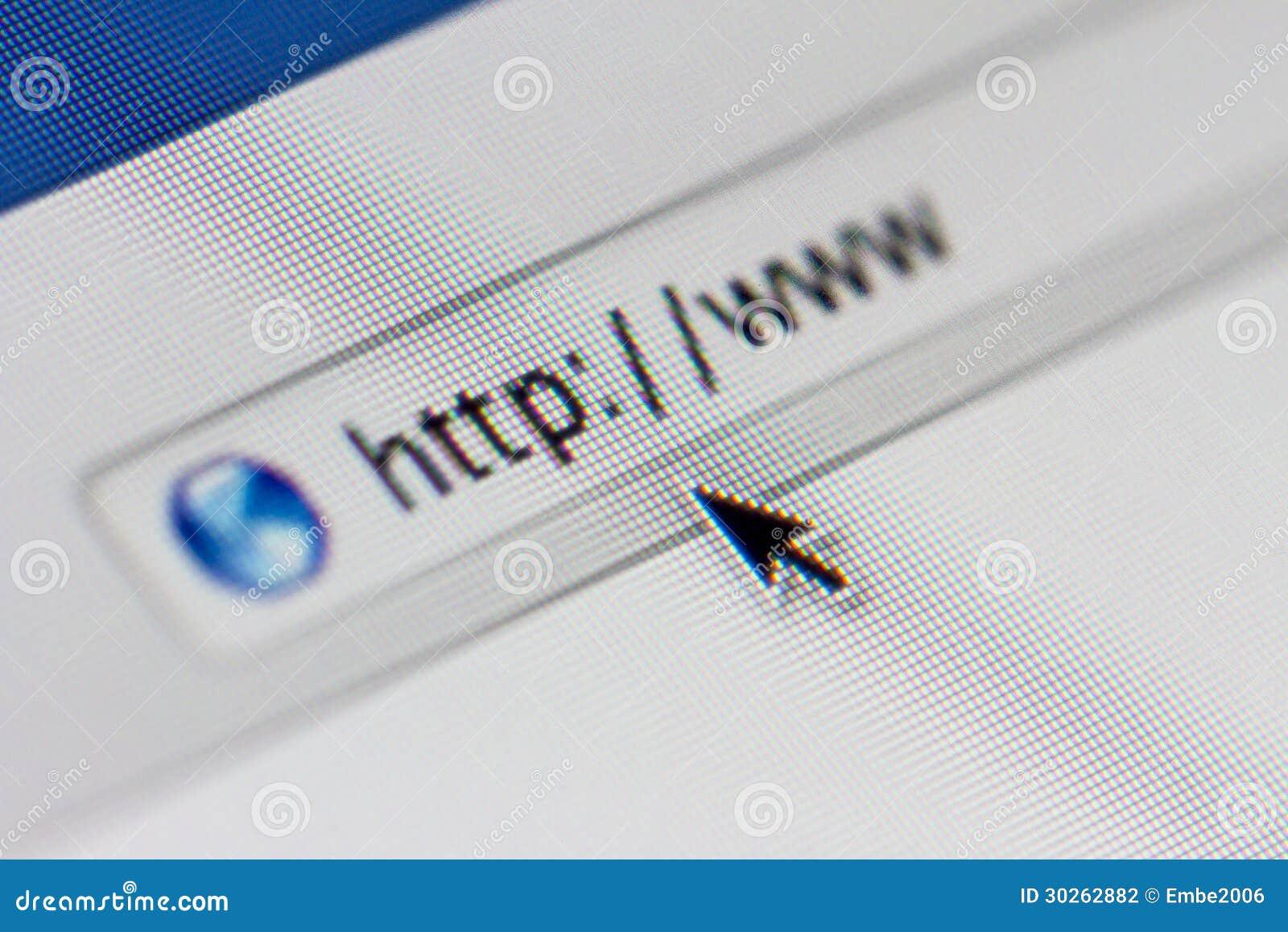 Dirección del Web