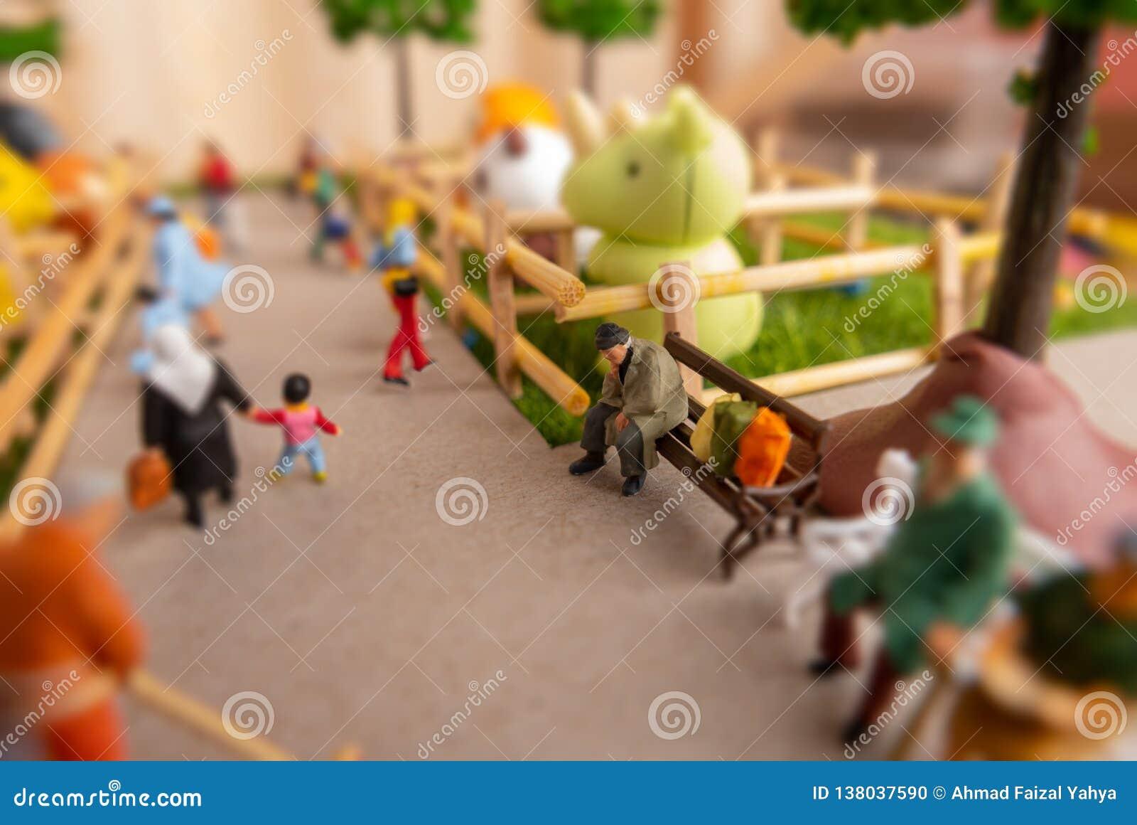 Personas miniatura de juguete