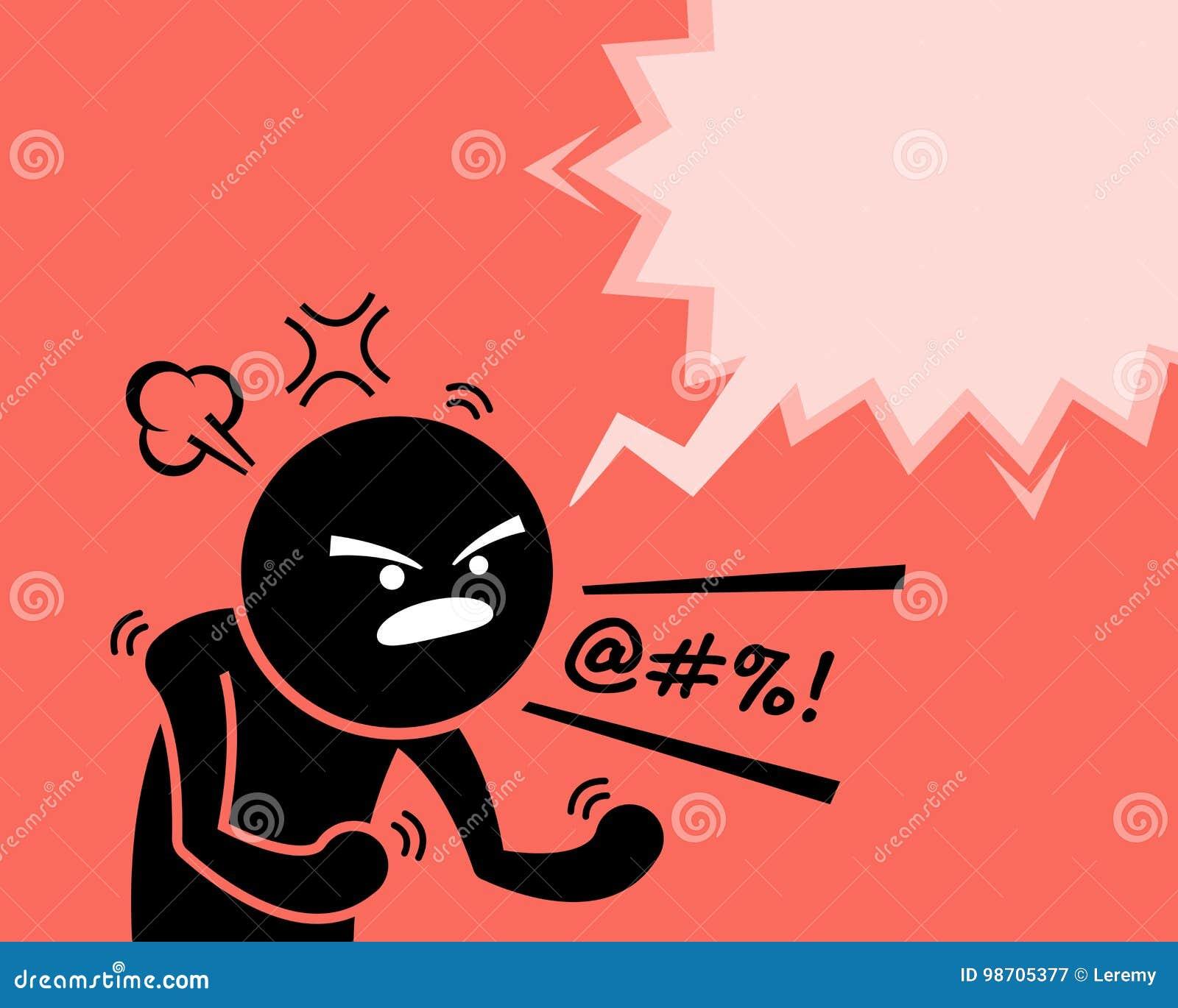 Un uomo molto arrabbiato che esprime la sue rabbia, collera ed insoddisfazione chiedendo perché