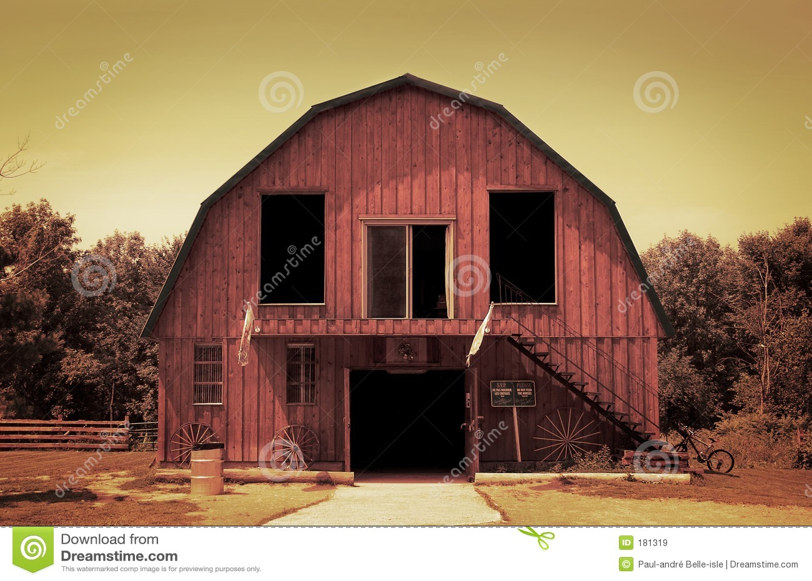 Un vecchio granaio