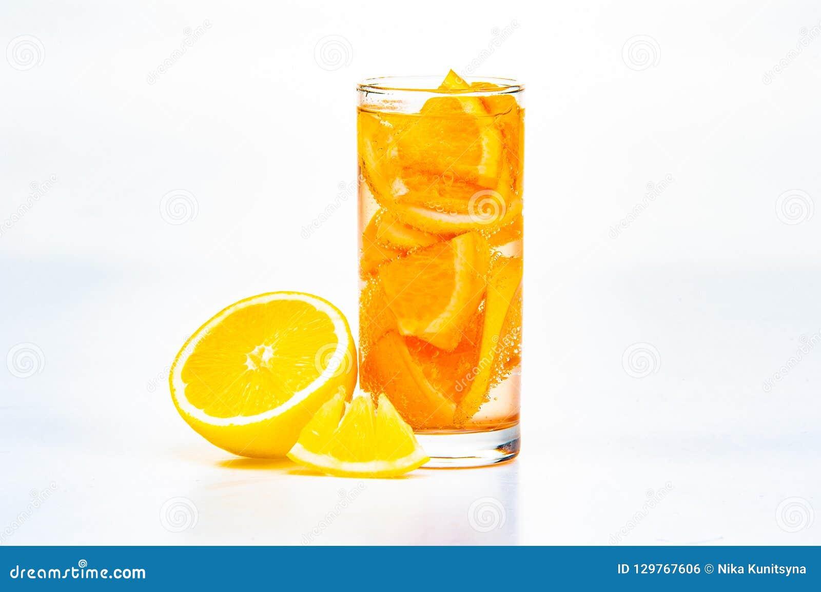 Un vidrio de fruta