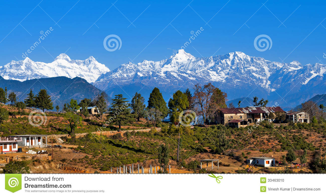 Un villaggio all Himalaya