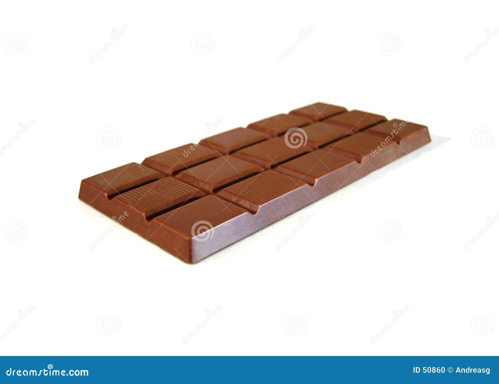 Una barra del chocolate