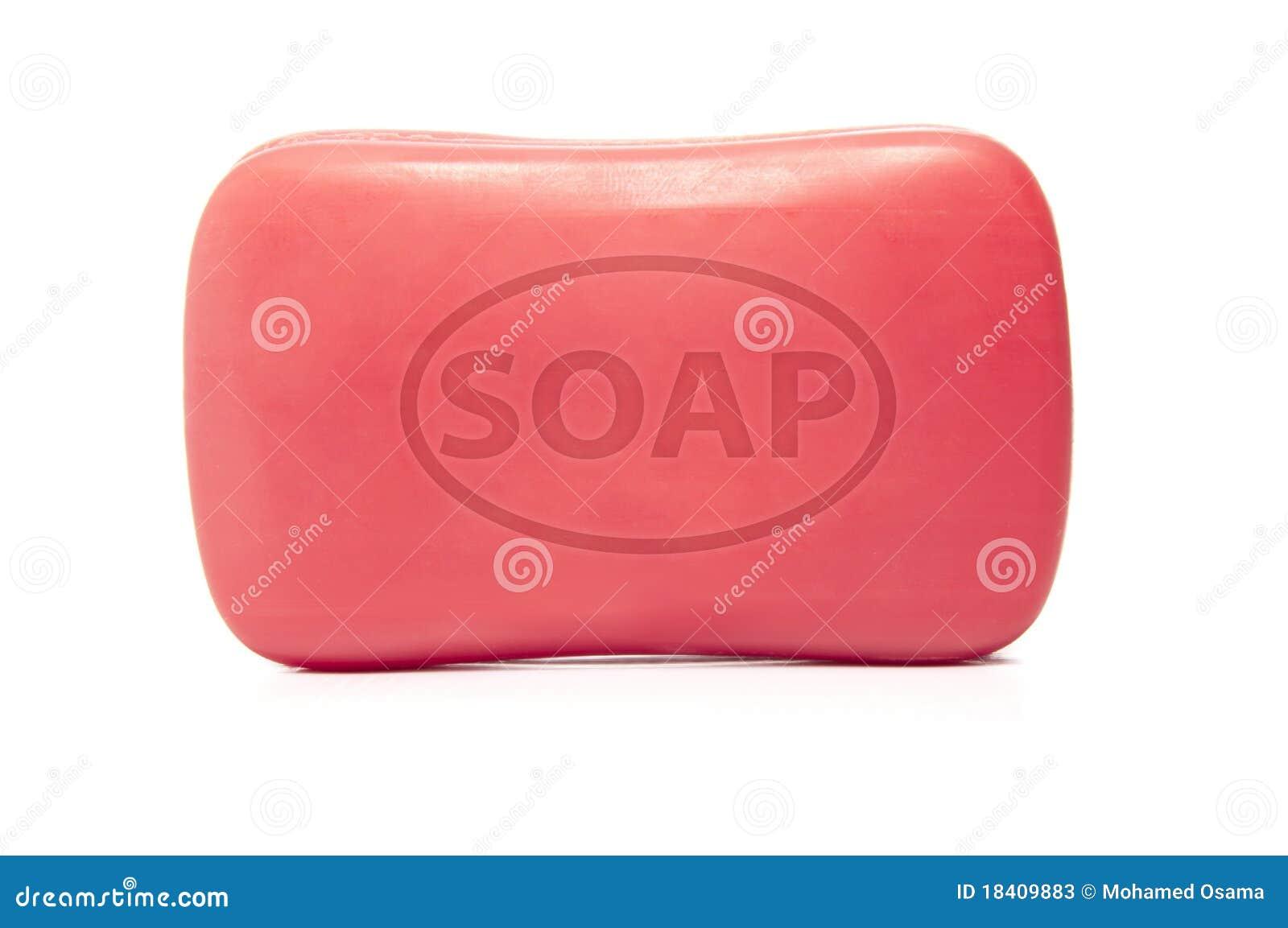 Una barra del jabón
