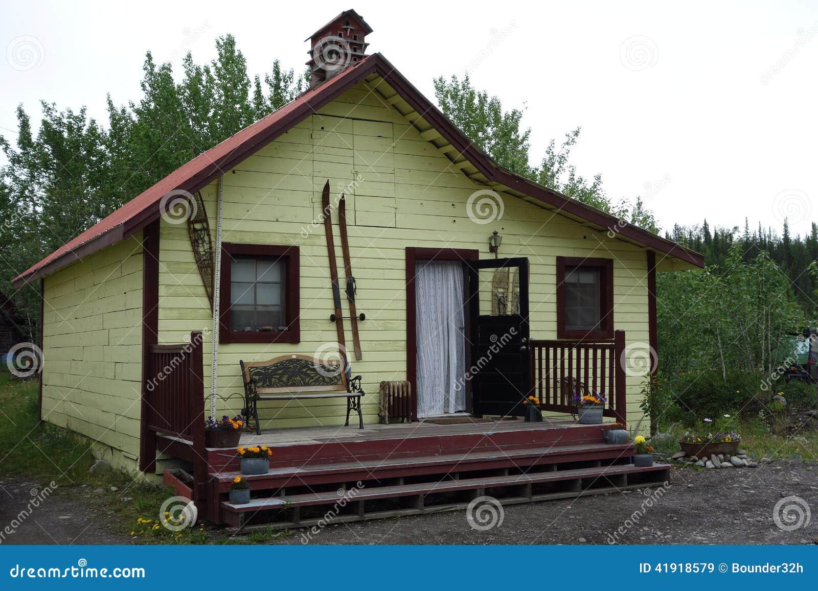 Una casa caprichosa en Alaska