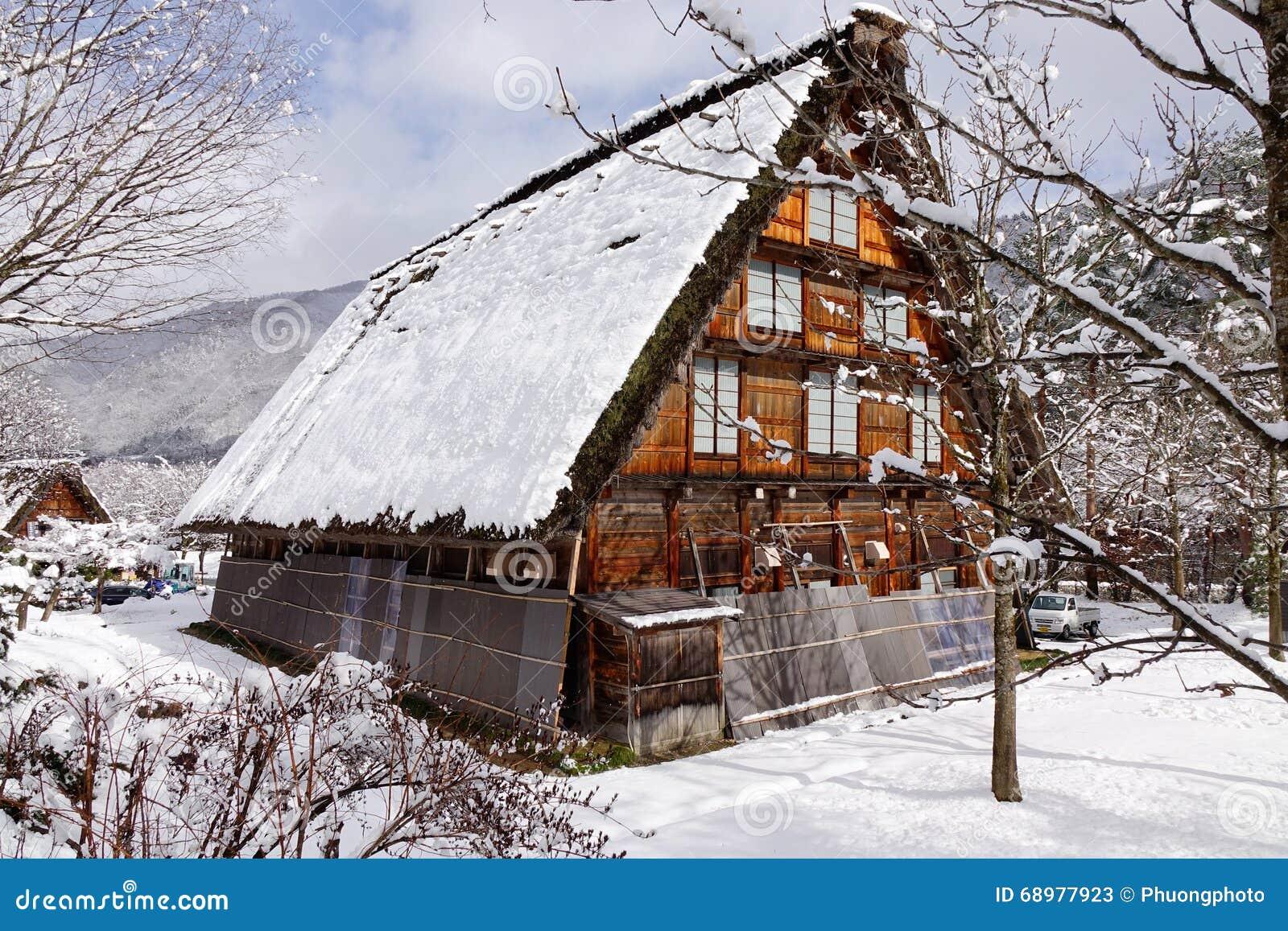 Una casa de madera en Takayama, Japón