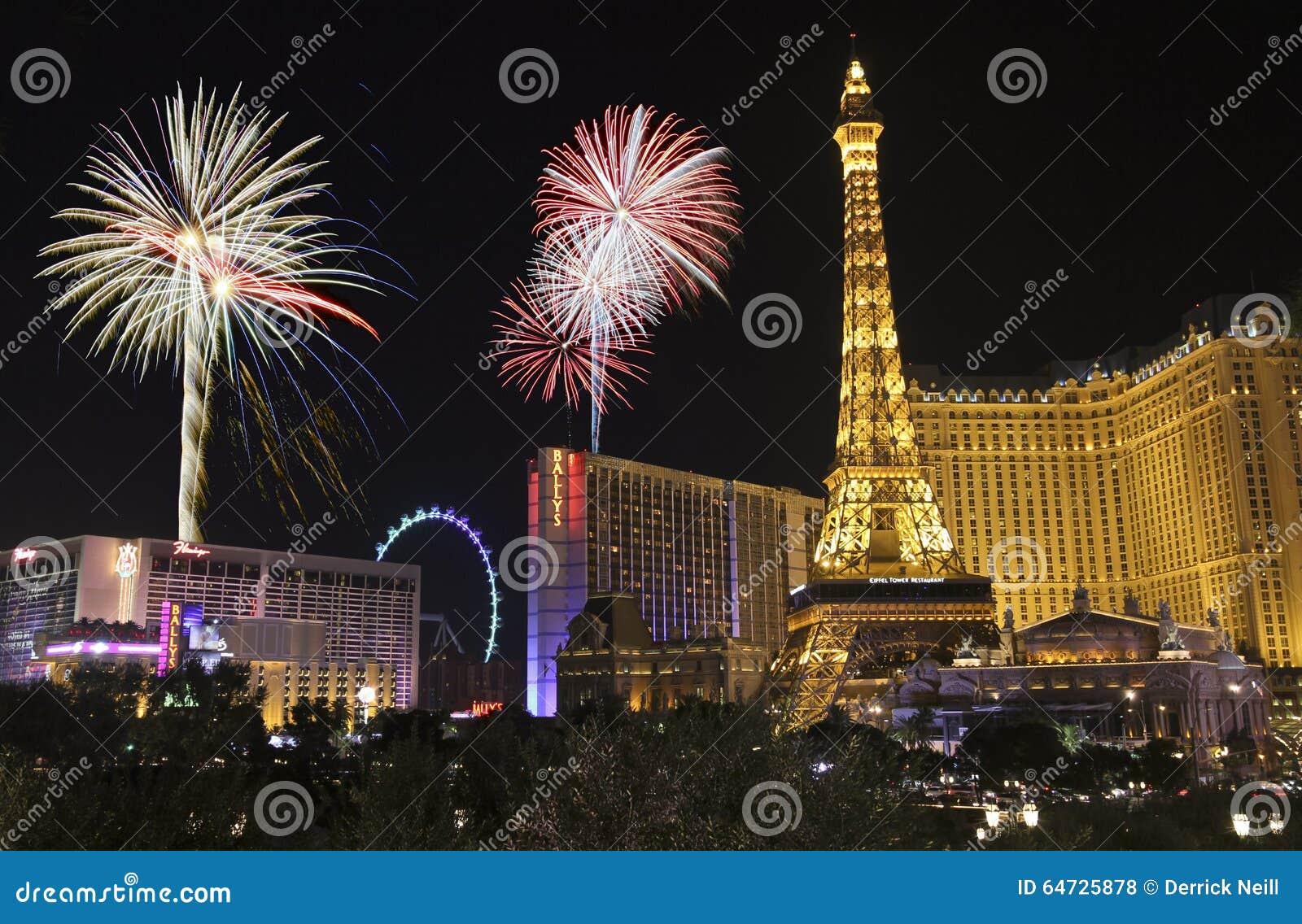 Una celebrazione a Bellagio e Las Vegas Blvd