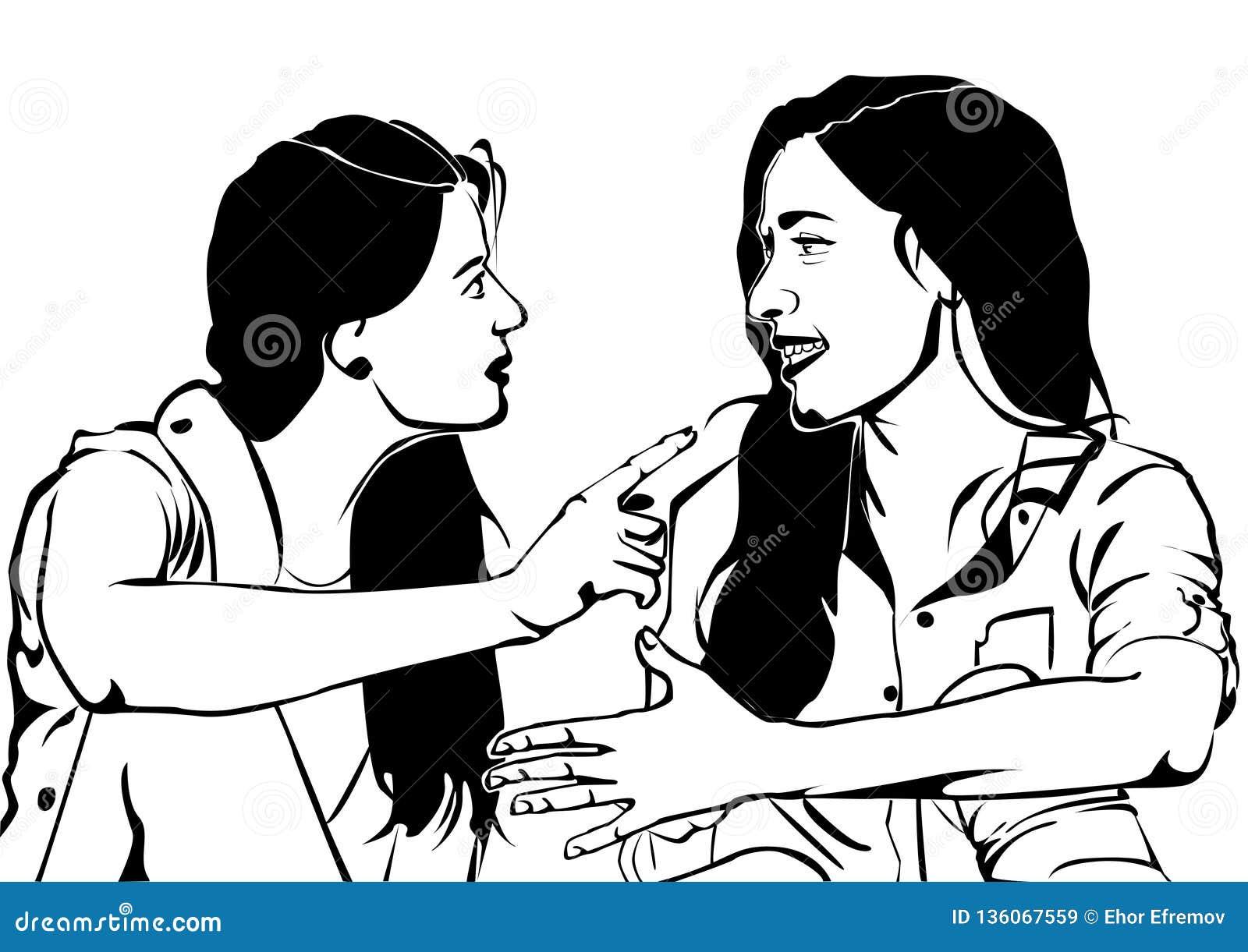 Una charla amistosa y un cierto chisme