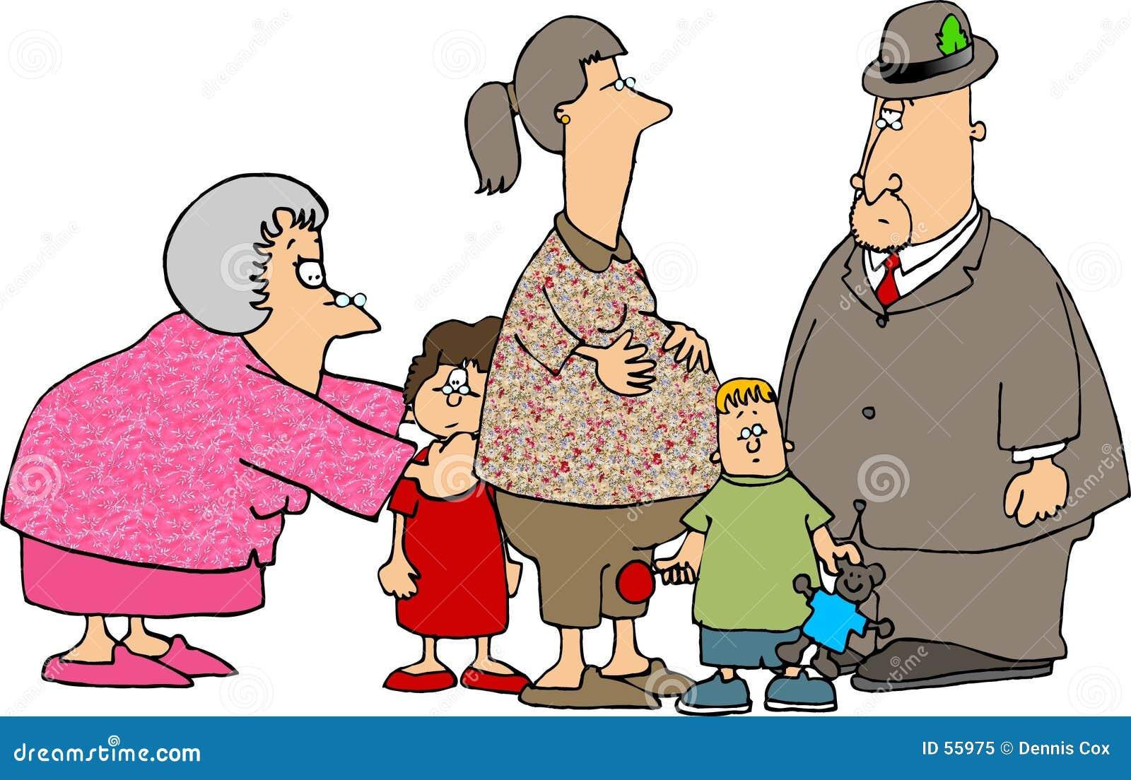 Una chiamata con i nonni