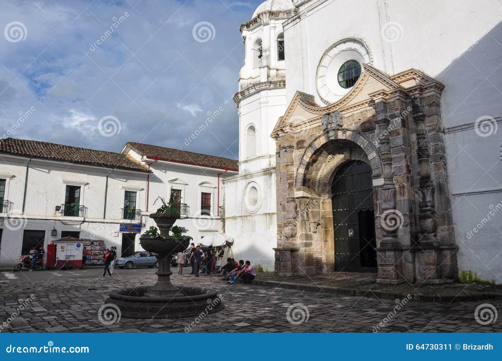 Una chiesa in Popayan, Colombia