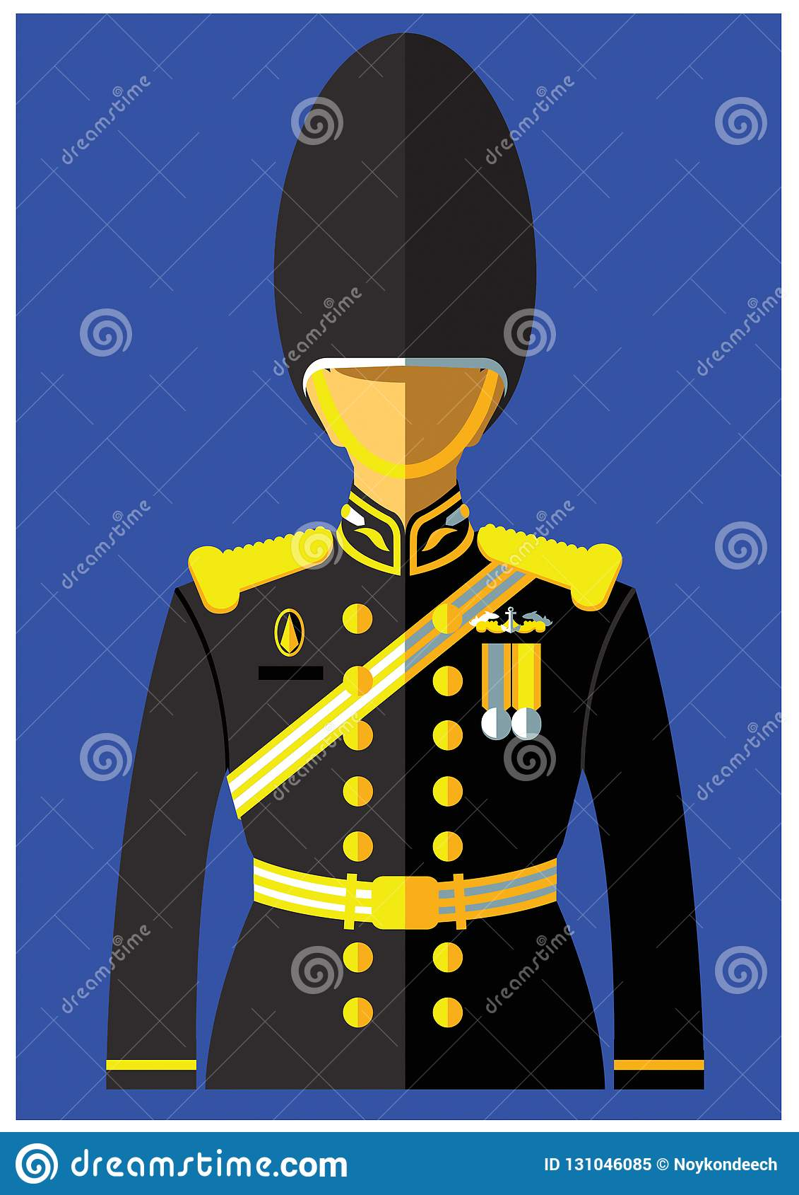Una clase de uniforme de la marina de guerra
