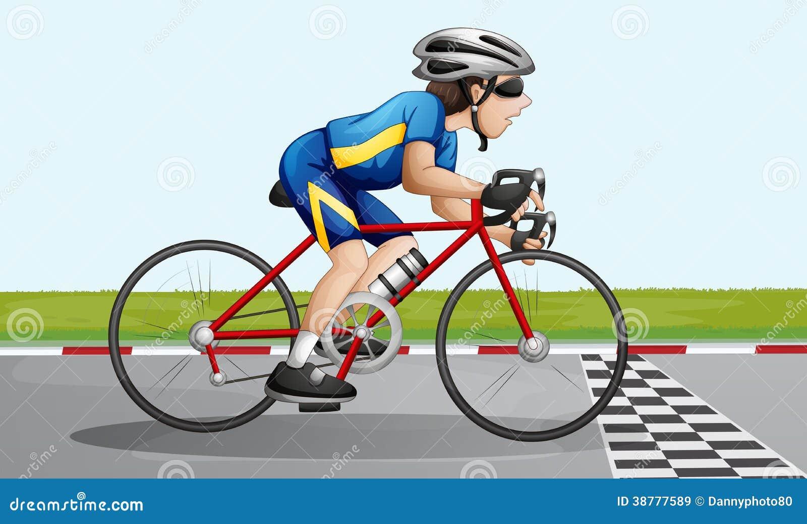Una corsa della bici