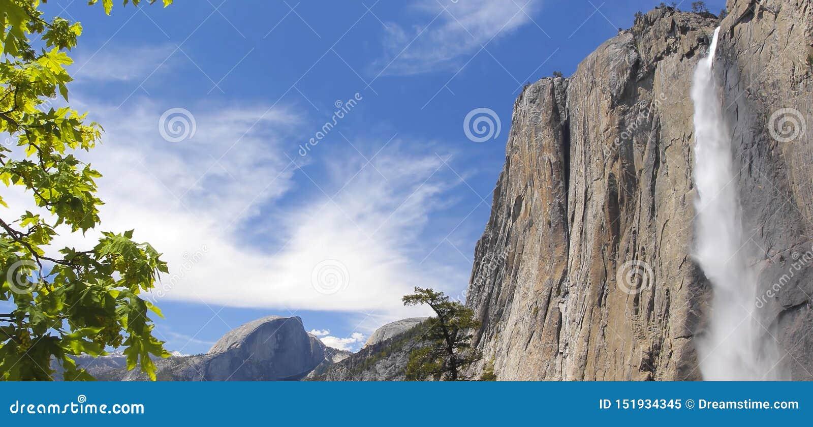 Una de las cascadas más altas del mundo