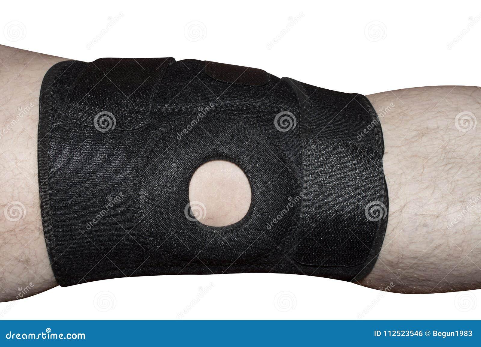 Una fasciatura di piede per il giunto di ginocchio