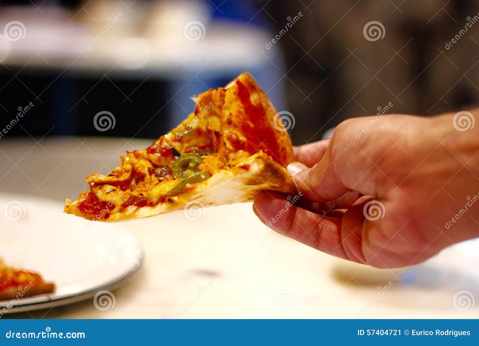 Una fetta di pizza