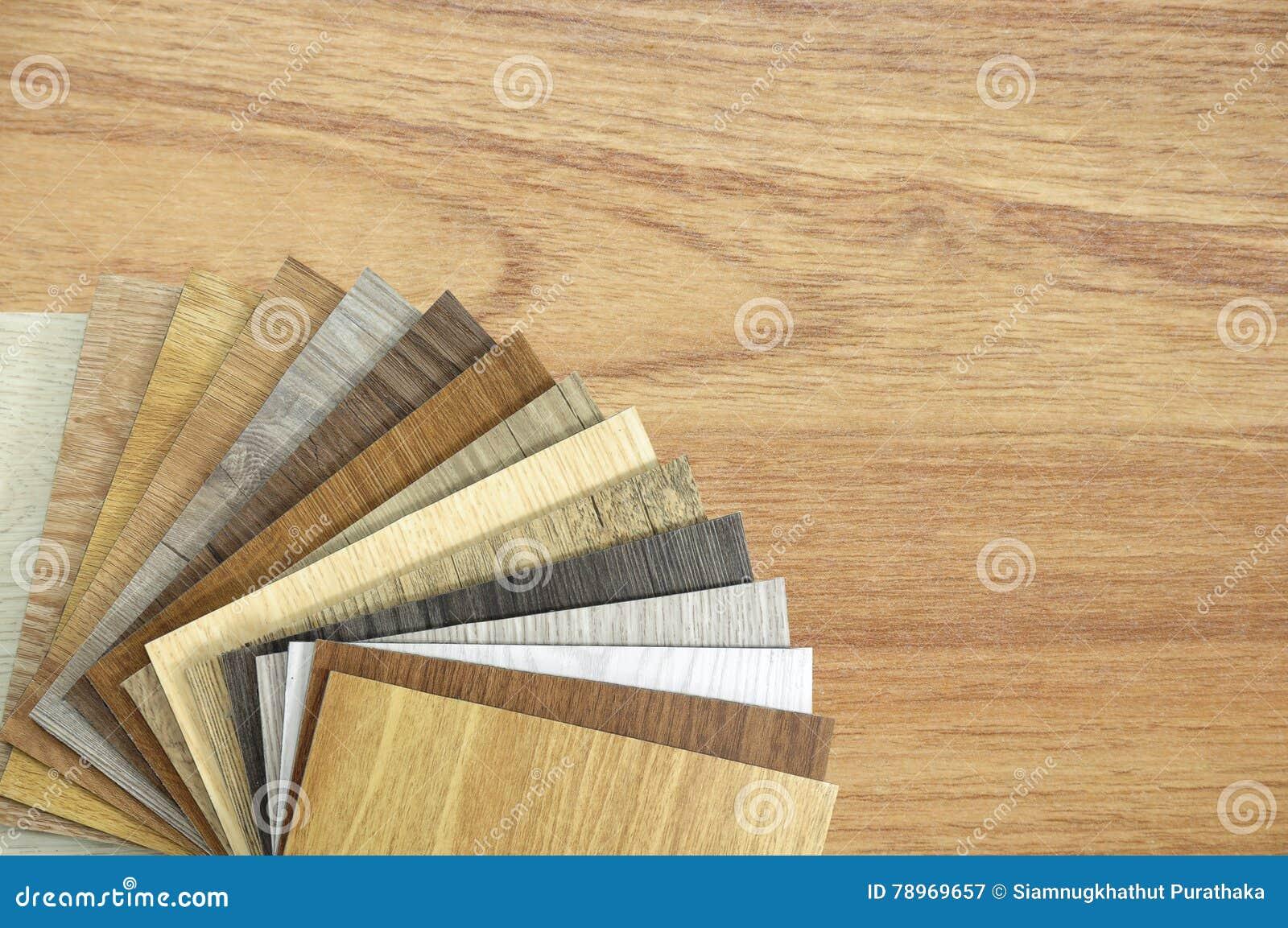 Una foto del estudio del suelo de la lamina de la madera tablón laminado del piso