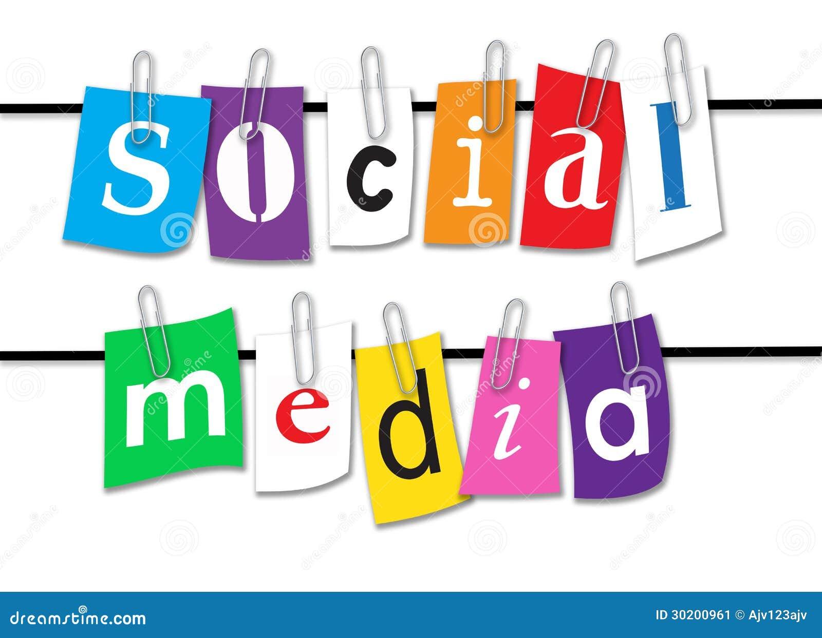 Línea social de los medios