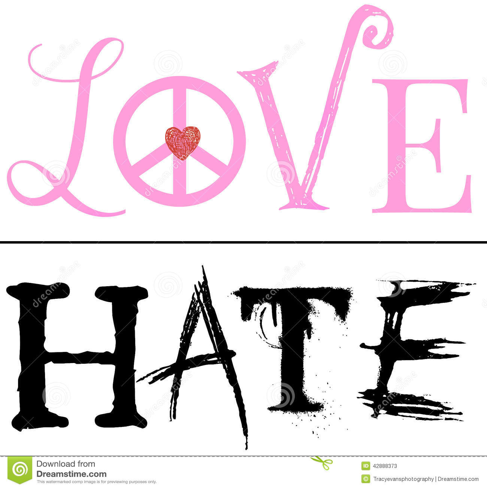 Una línea fina entre el amor y el odio