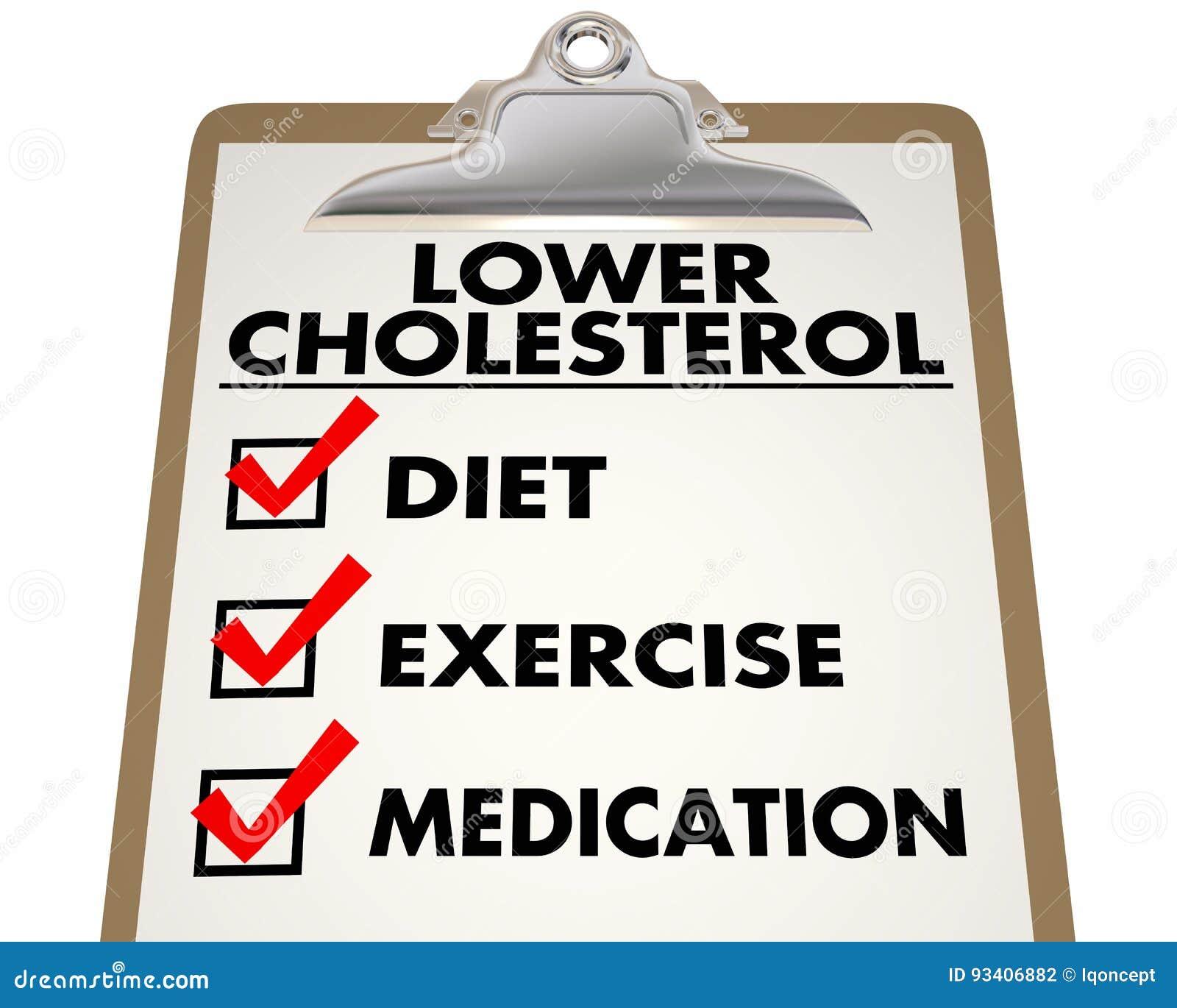Dieta baja en colesterol ejemplo