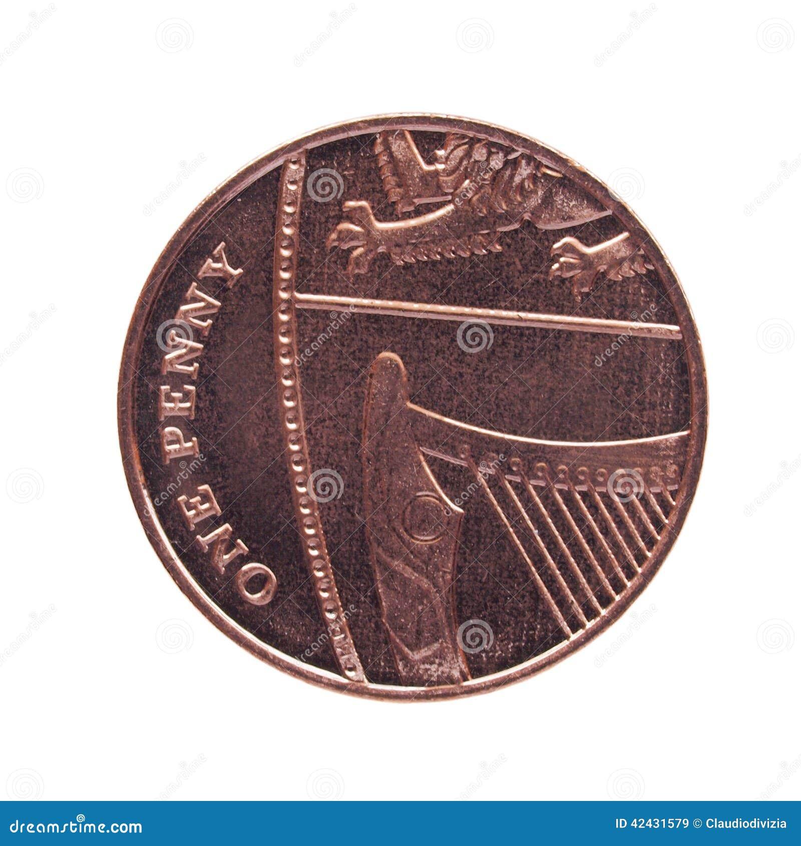 Una moneda del penique