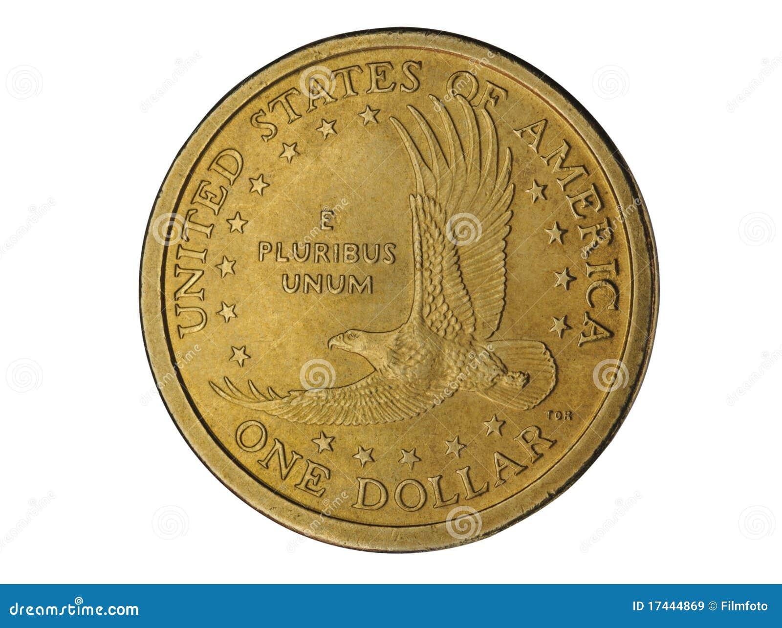 Una moneta del dollaro