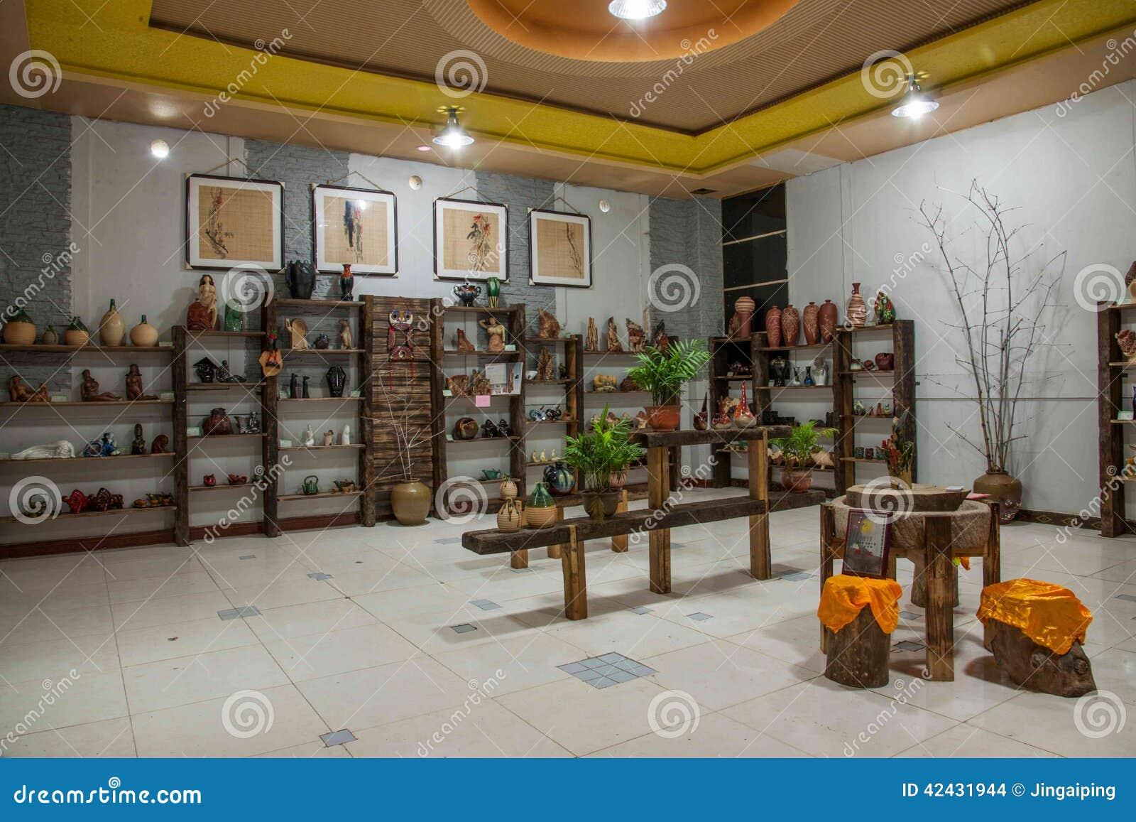 Una muestra de Rongchang Tao del museo de la cerámica del estudio de la cerámica de Chongqing Rongchang
