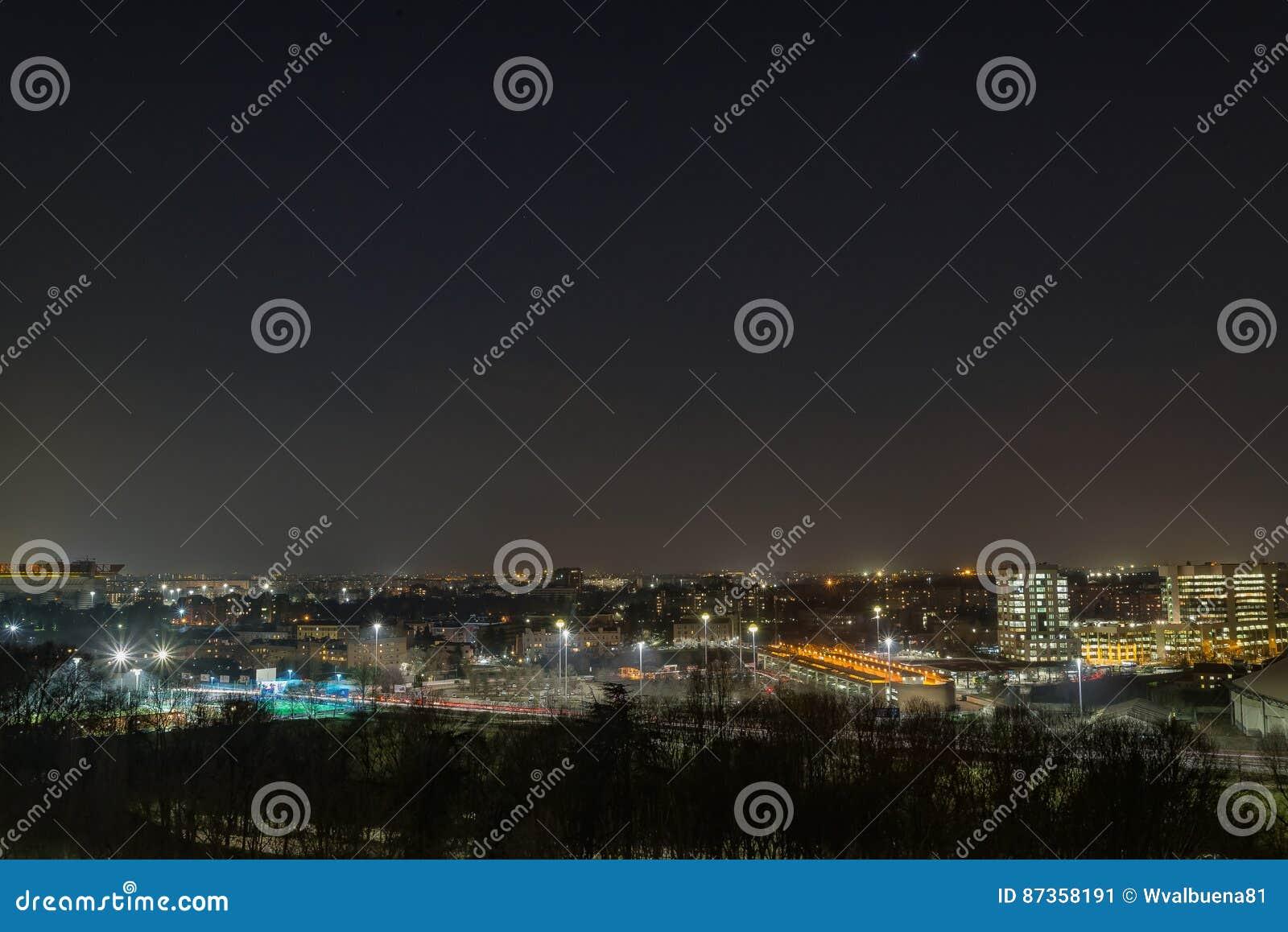 Una notte nella città