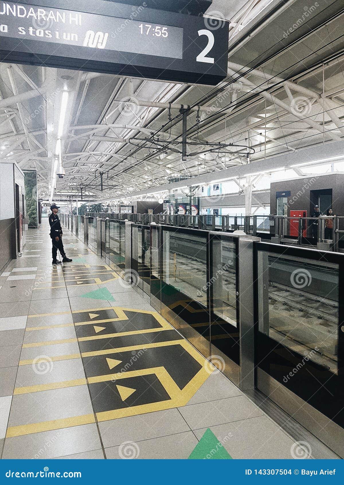 Una nuova stazione di MRT a Jakarta