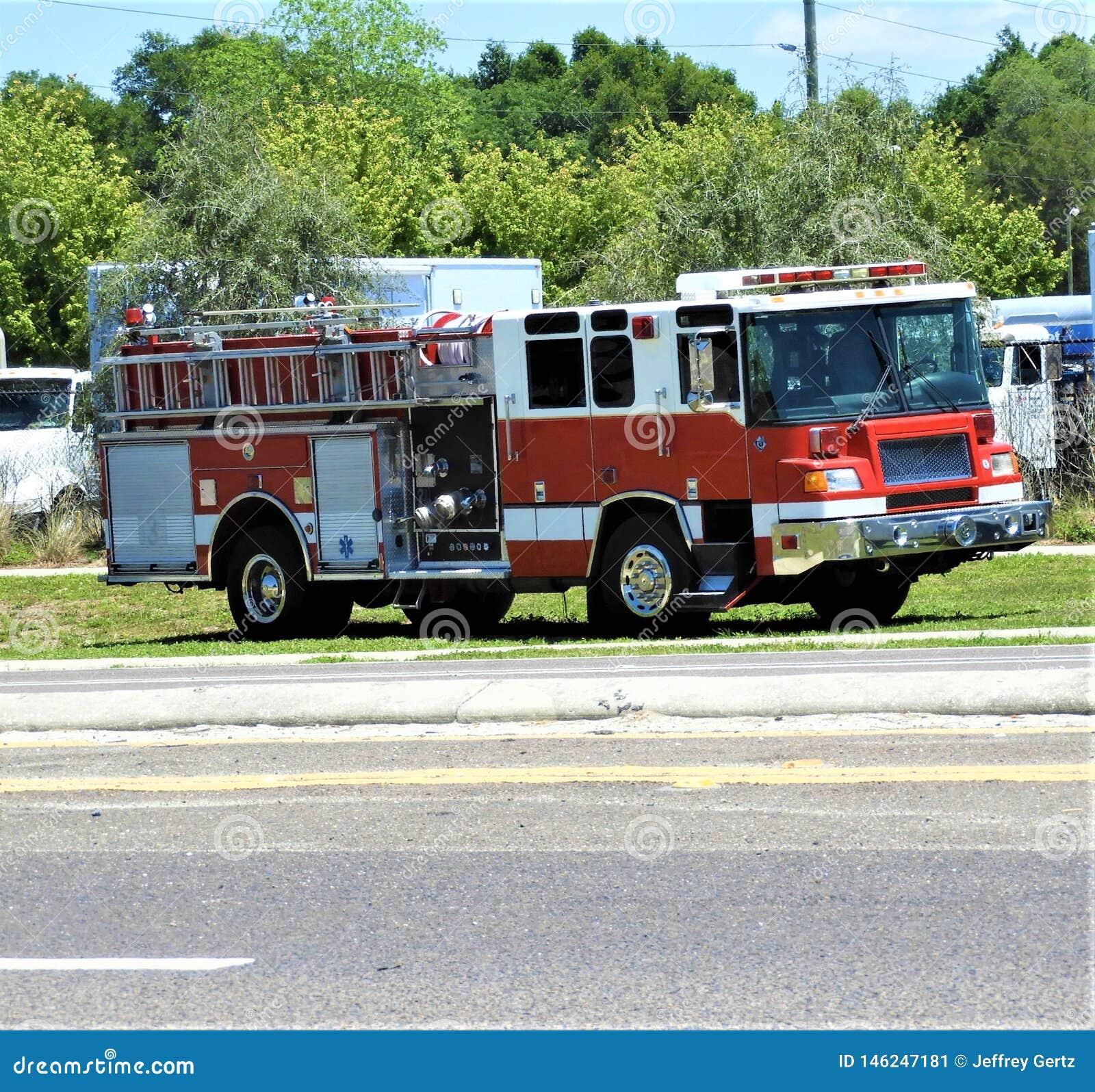 Una obra clásica mediados de a último 1990' coche de bomberos de s