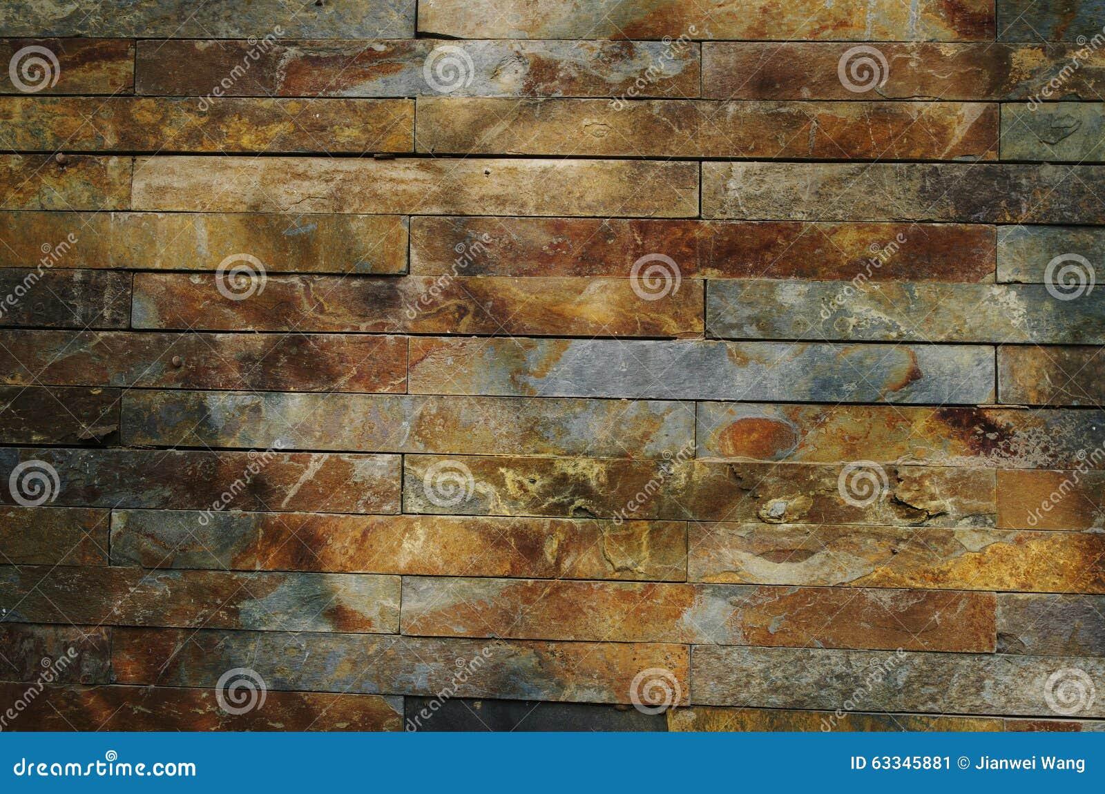 Una parete della pietra