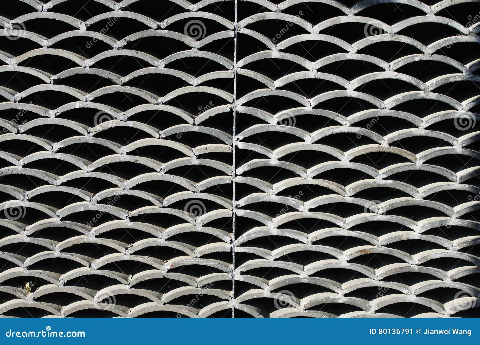 Una parete delle mattonelle