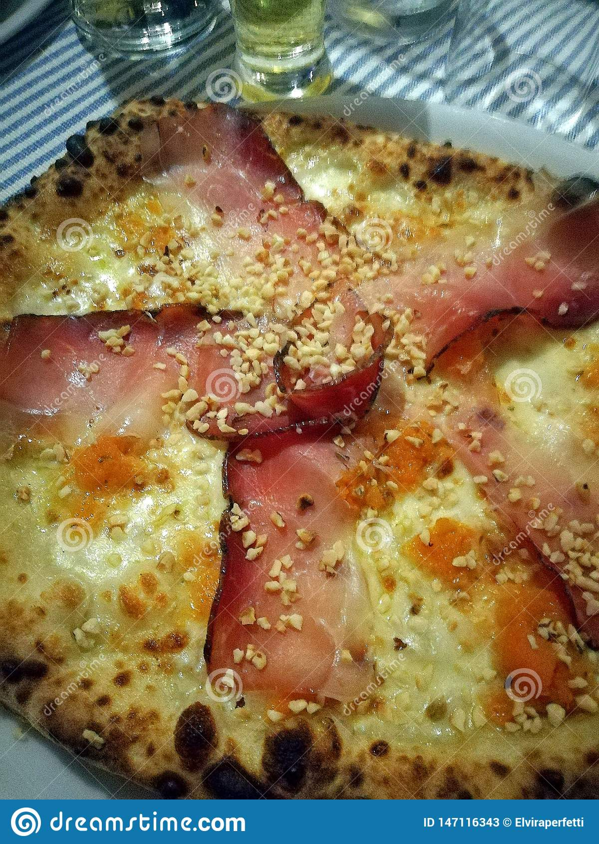 Una pizza gastrónoma