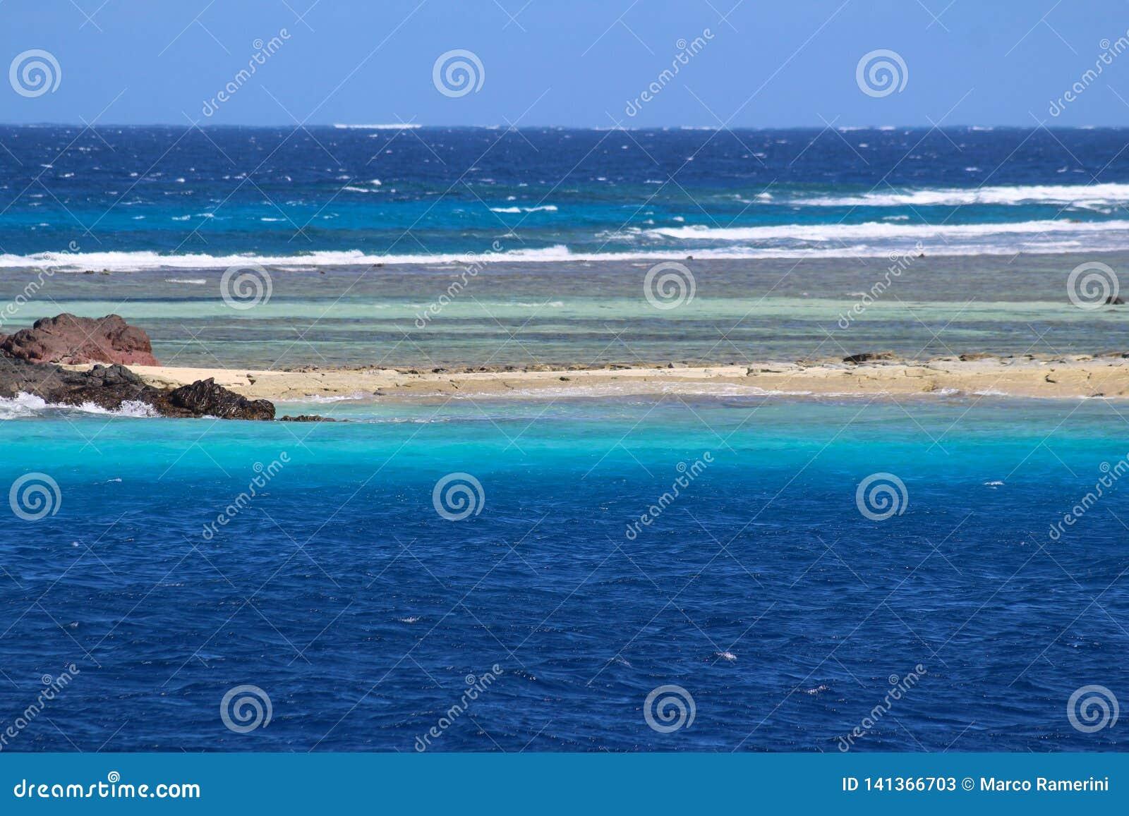 Una playa de una isla tropical, Fiji